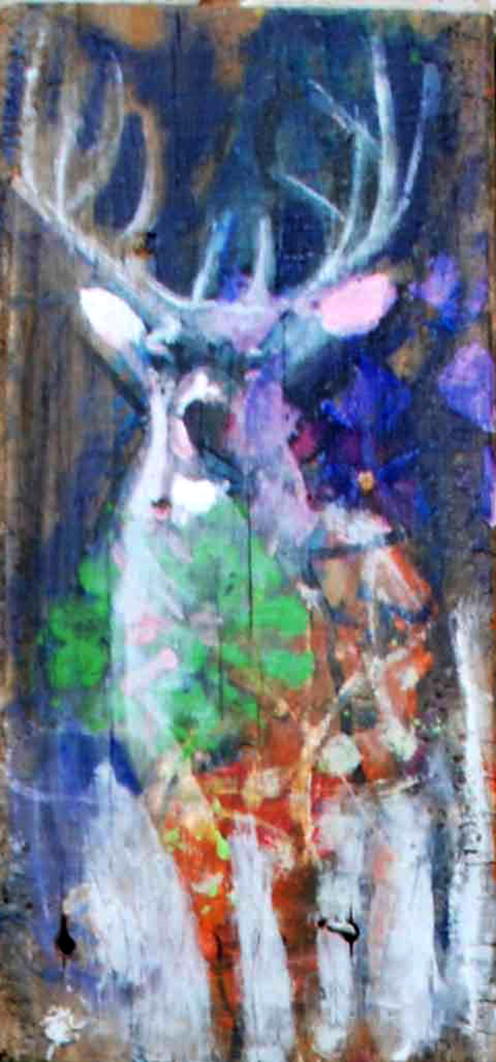 Deer #1 by Susan Easton Burns