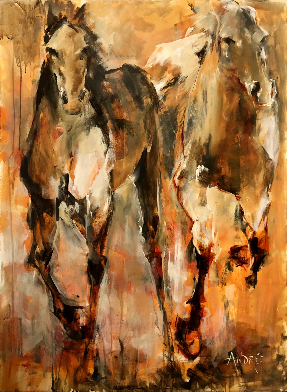 Sunny Stroll by Andrée Hudson