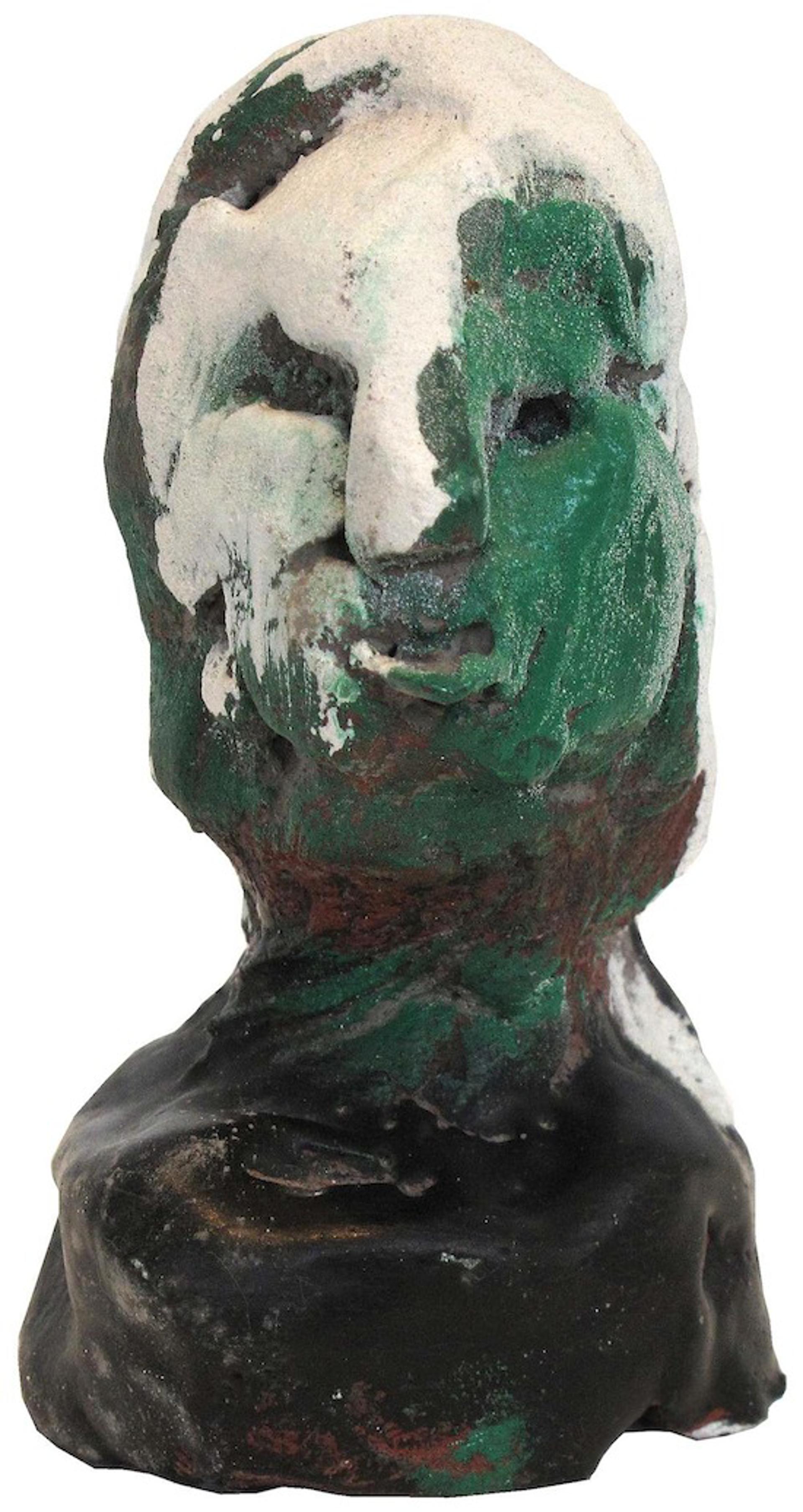 Green Face White Hair by James Havard