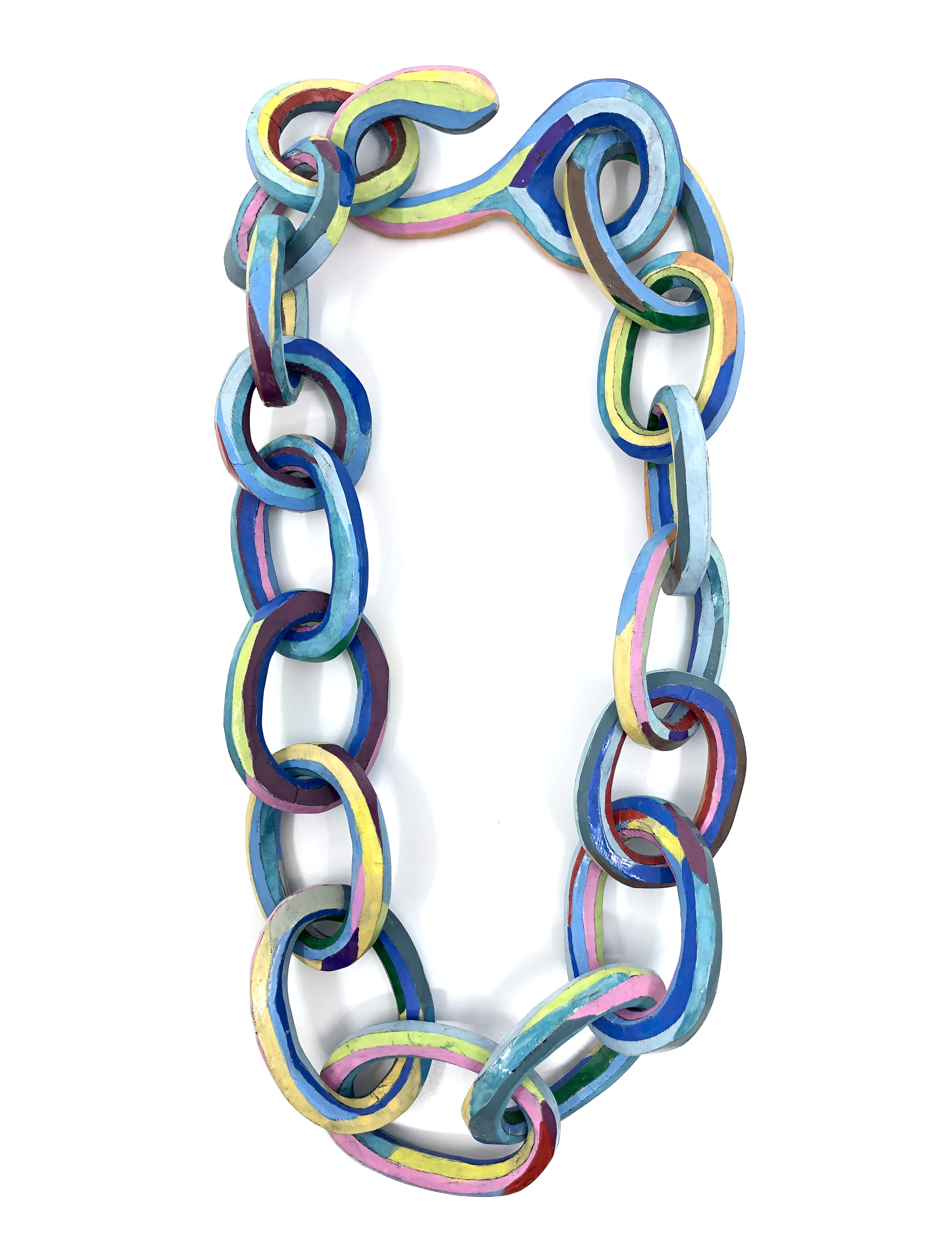 Large Link Necklace by Lindsay Locatelli