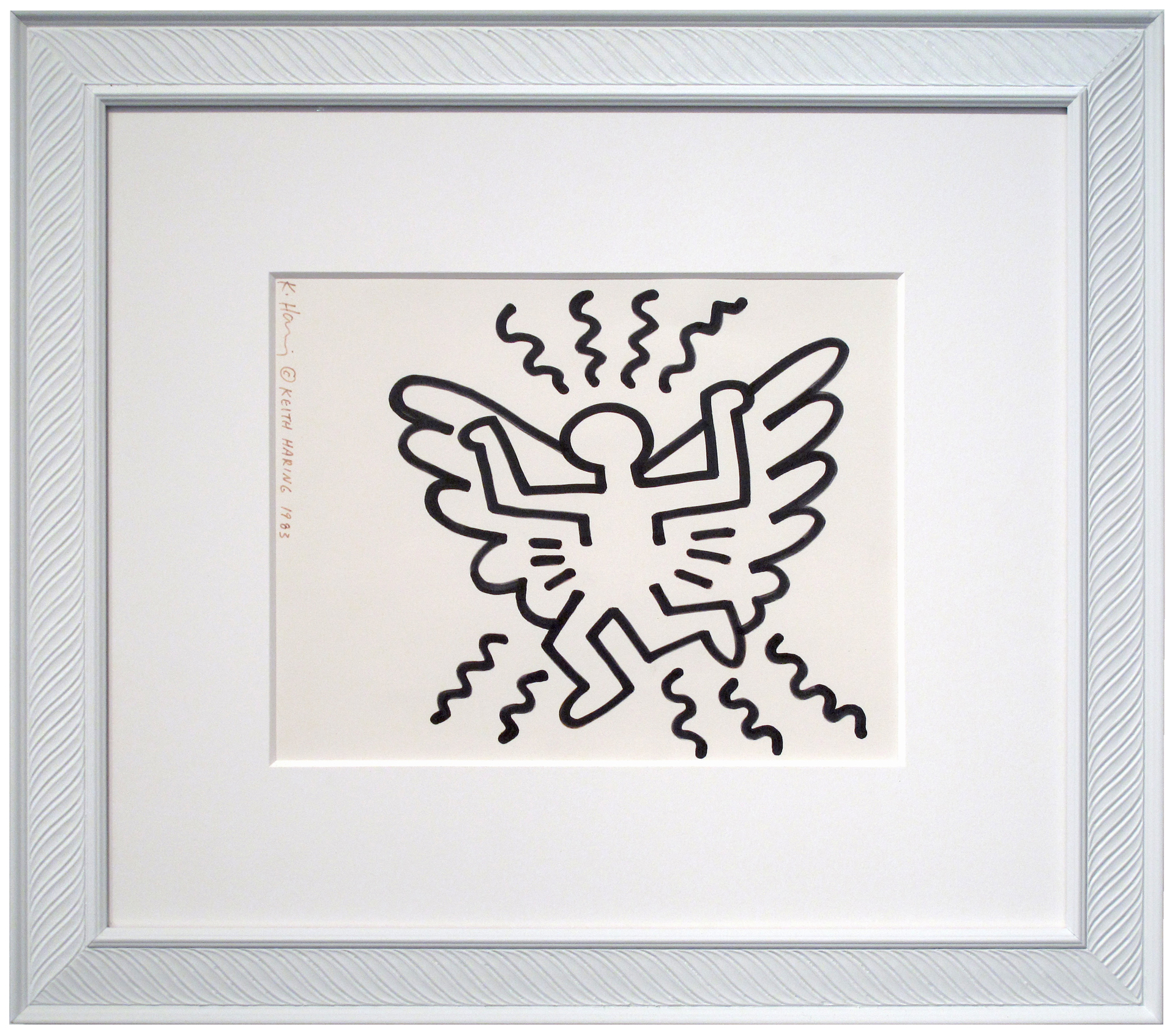Radiant Angel by Keith Haring