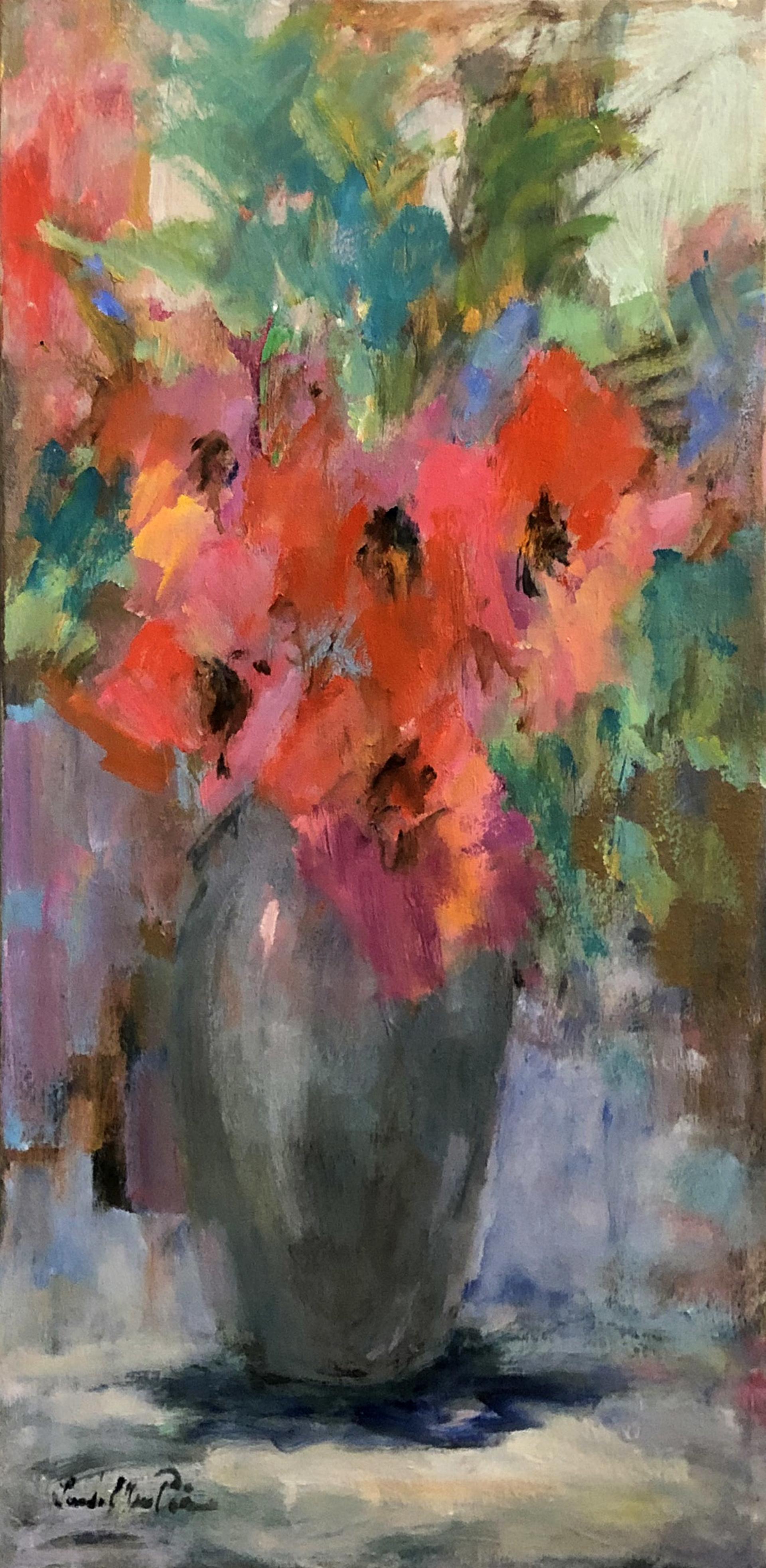 Modern Poppies by Linda Ellen Price