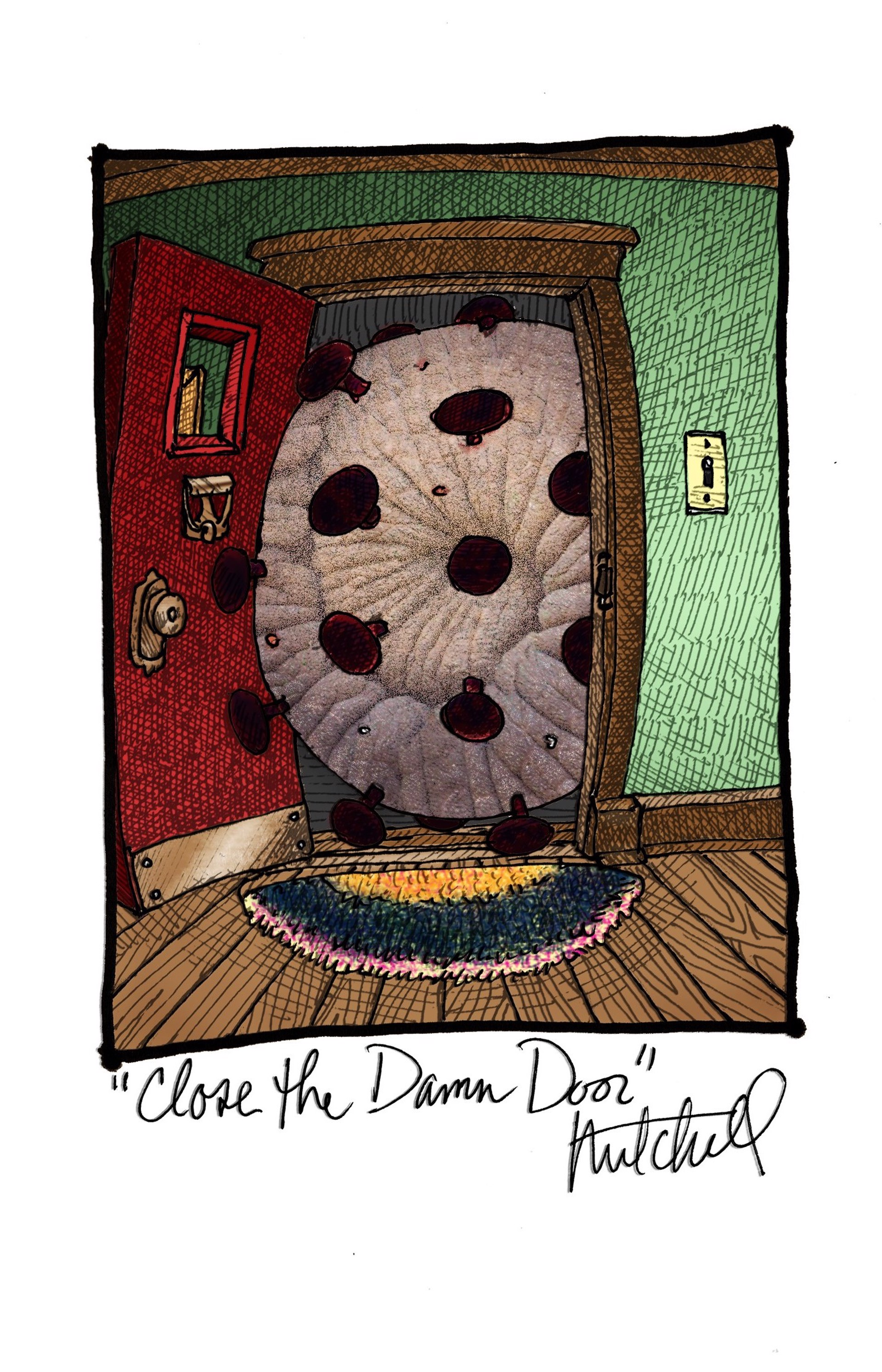 Close the Damn Door by Kurt Mitchell