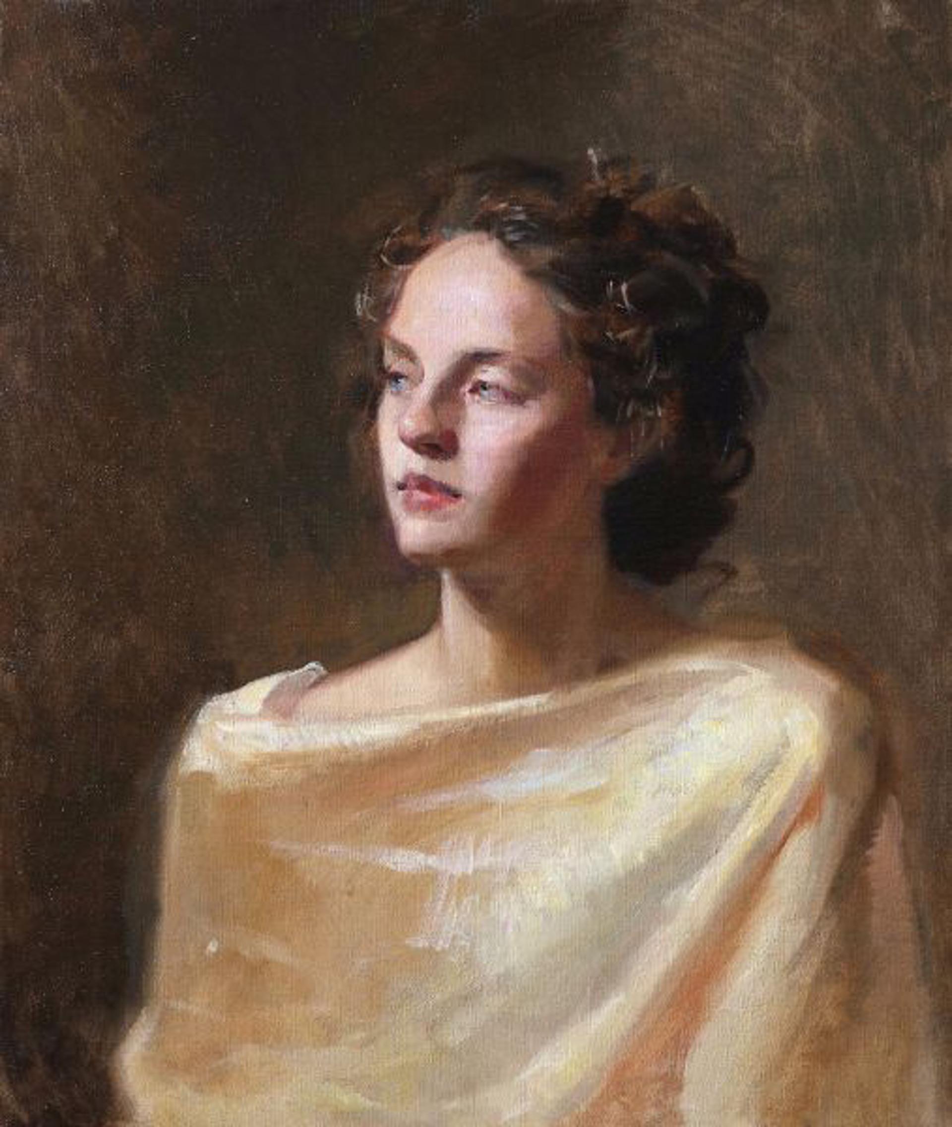 Ylenia (A Portrait Study) by Tanvi Pathare