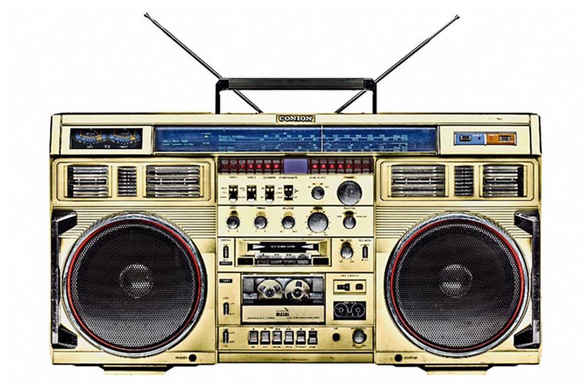 Boombox /27 by Lyle Owerko
