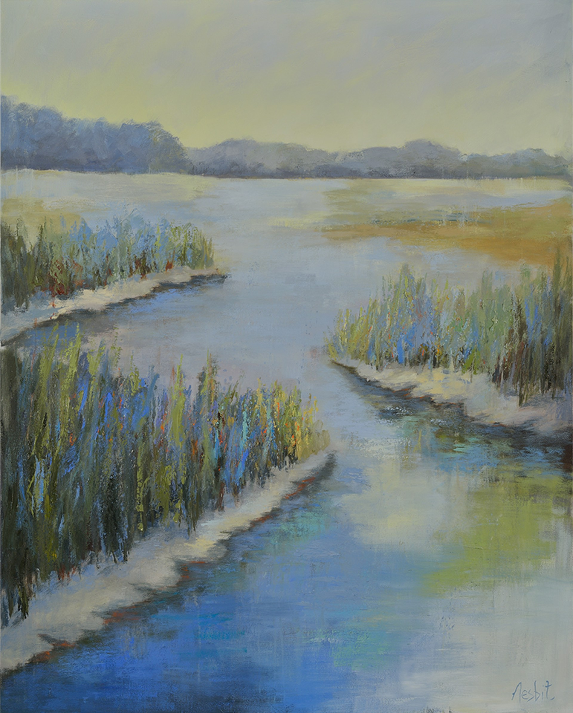 Low Tide Calm by Angela Nesbit