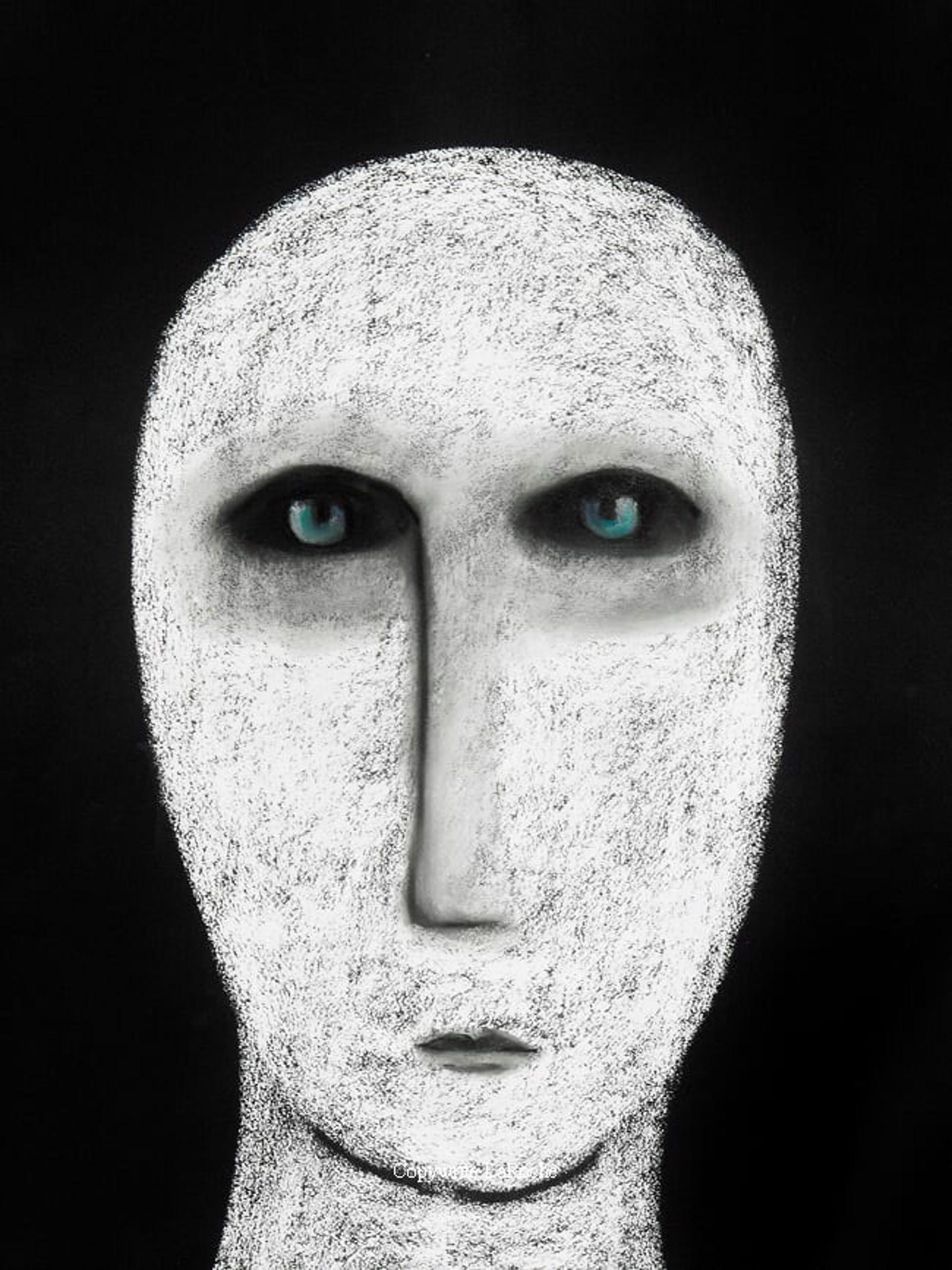 WHITE SHAMAN 42 by Carole LaRoche