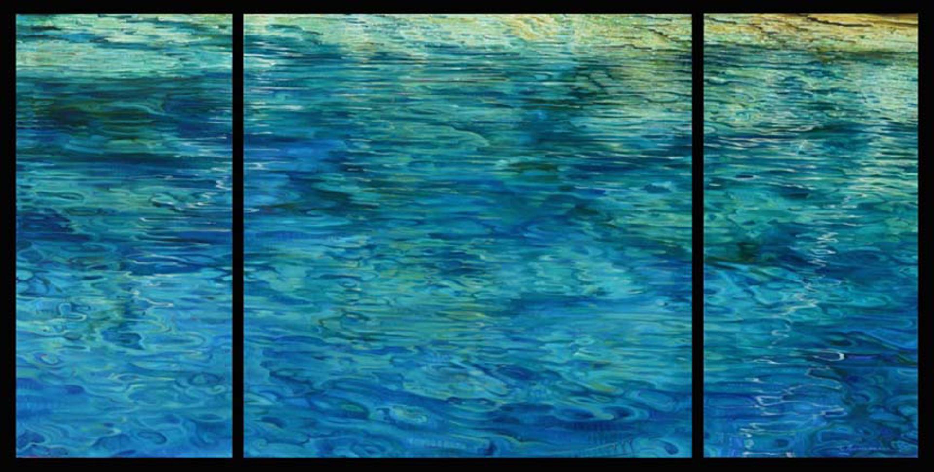Blue Water (T) by Caroline Zimmermann
