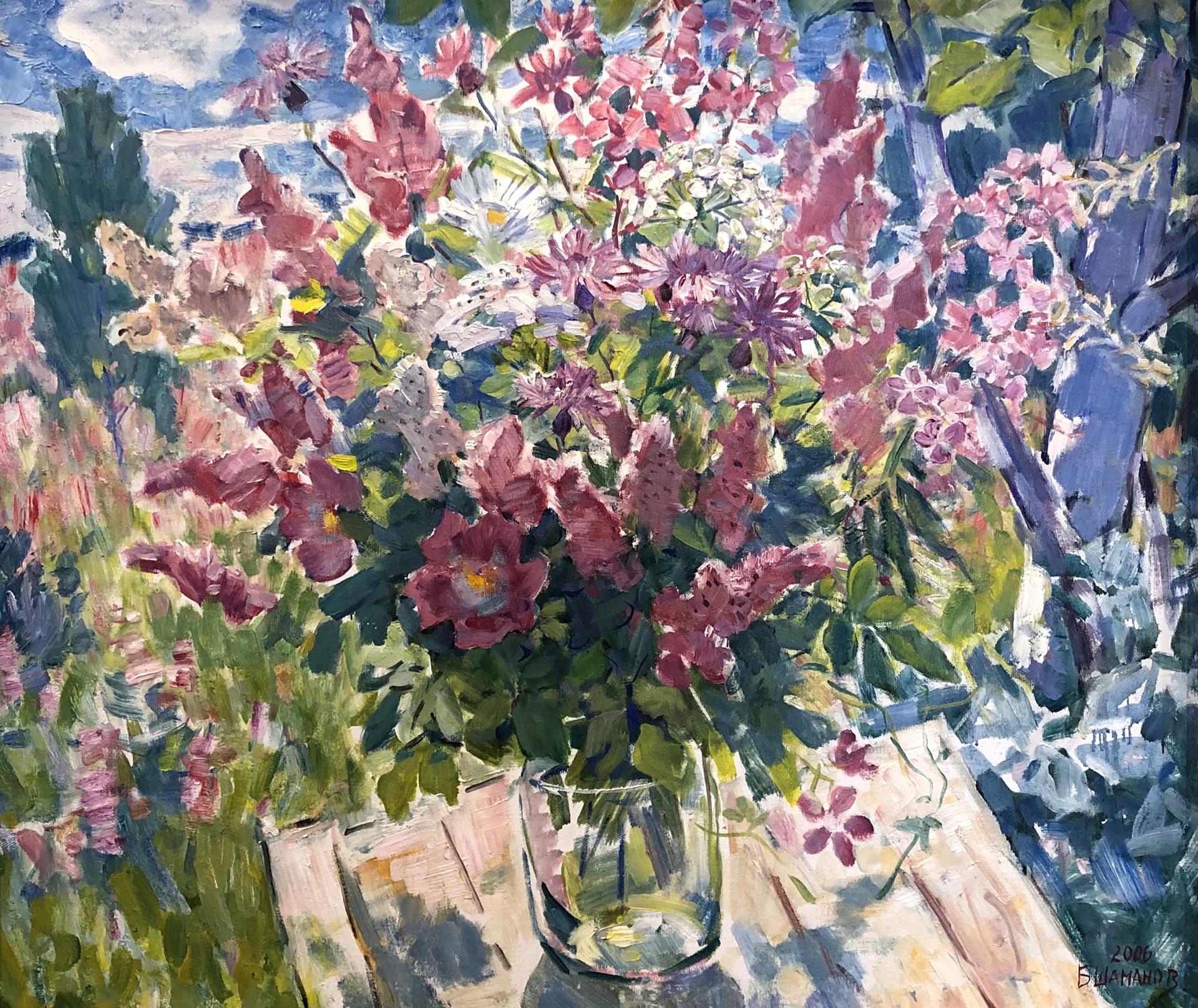 Boris Ivanovich Shamanov - Summer Afternoon by Russian Artists