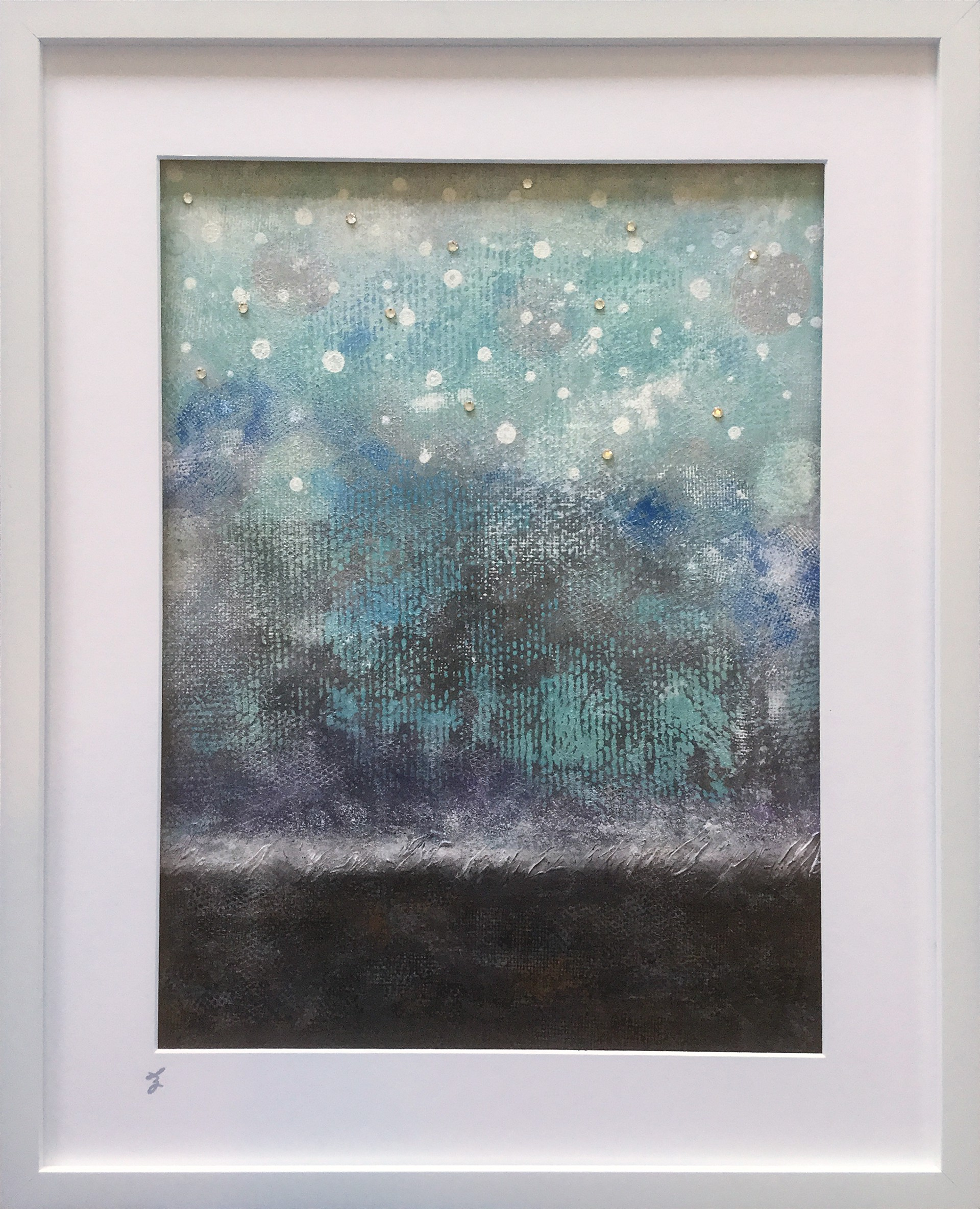 Atmospheric Particles by Lisa Zahler (Lafayette, OR)