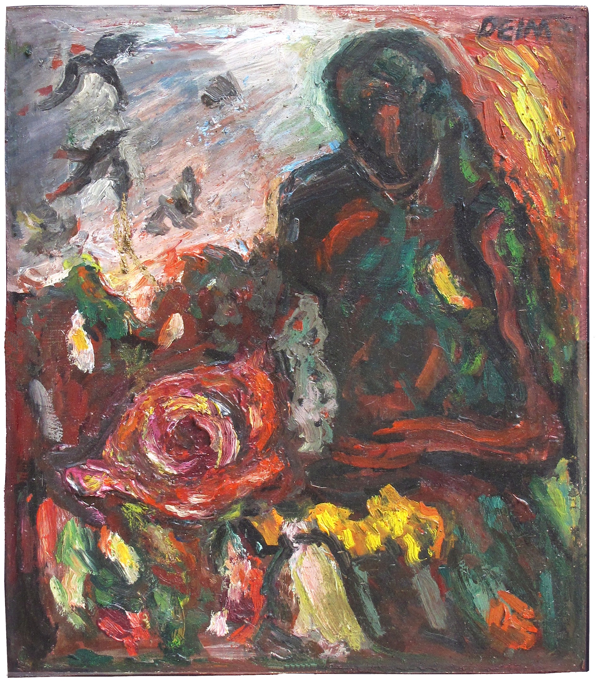 Orpheus and The Rose by Judith Deim