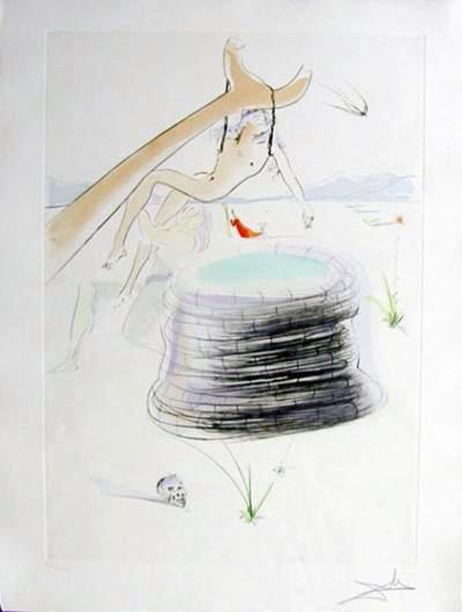 Joseph (from Our Historical Heritage, suite of 11) by Salvador Dali