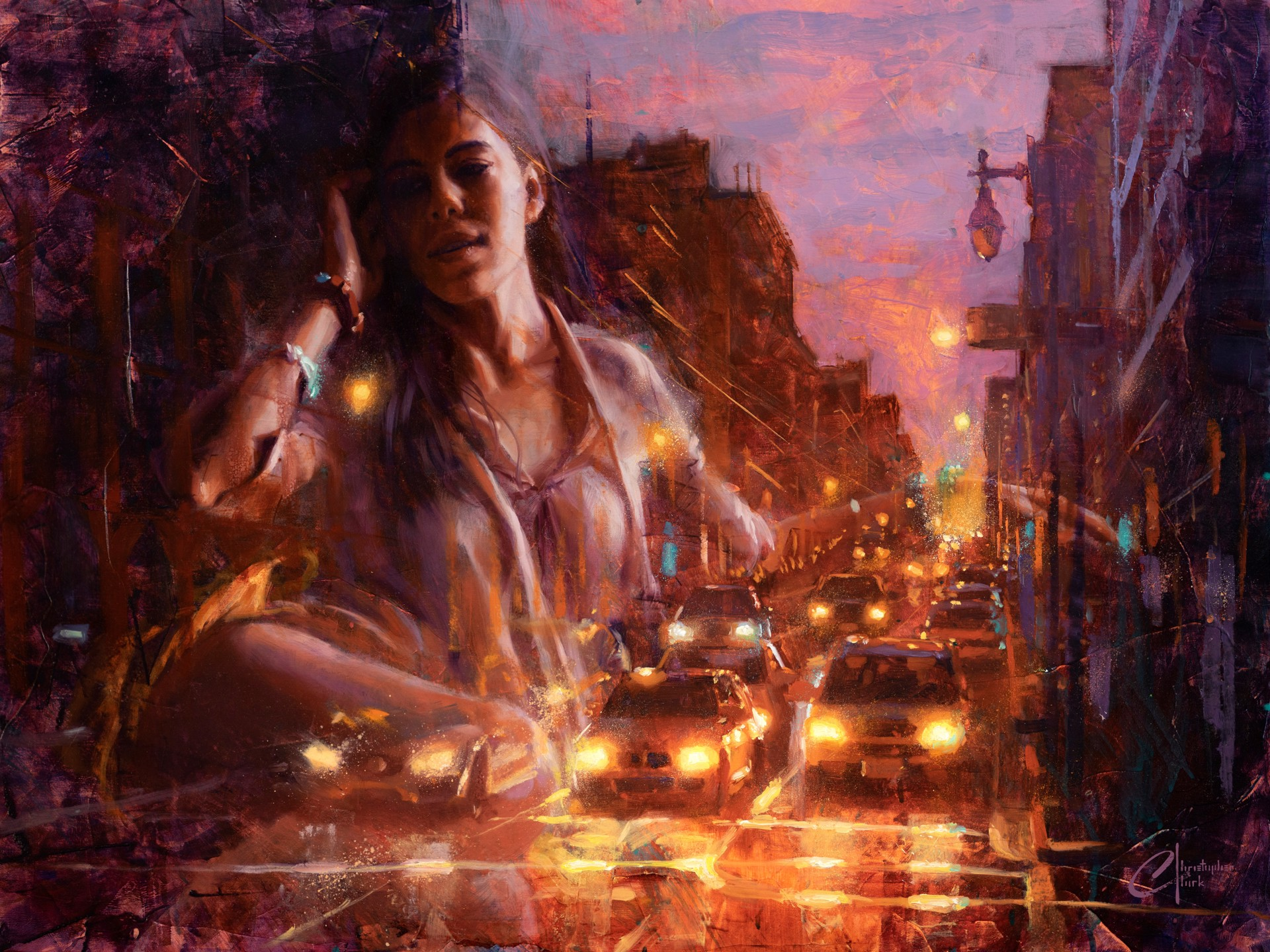City Life by Christopher Clark