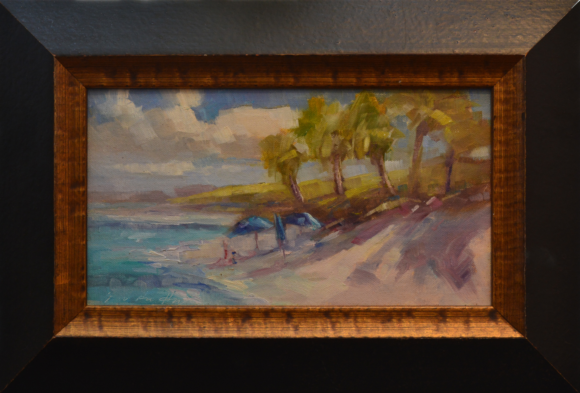 Hope Town Beach Near the Lodge by Karen Hewitt Hagan