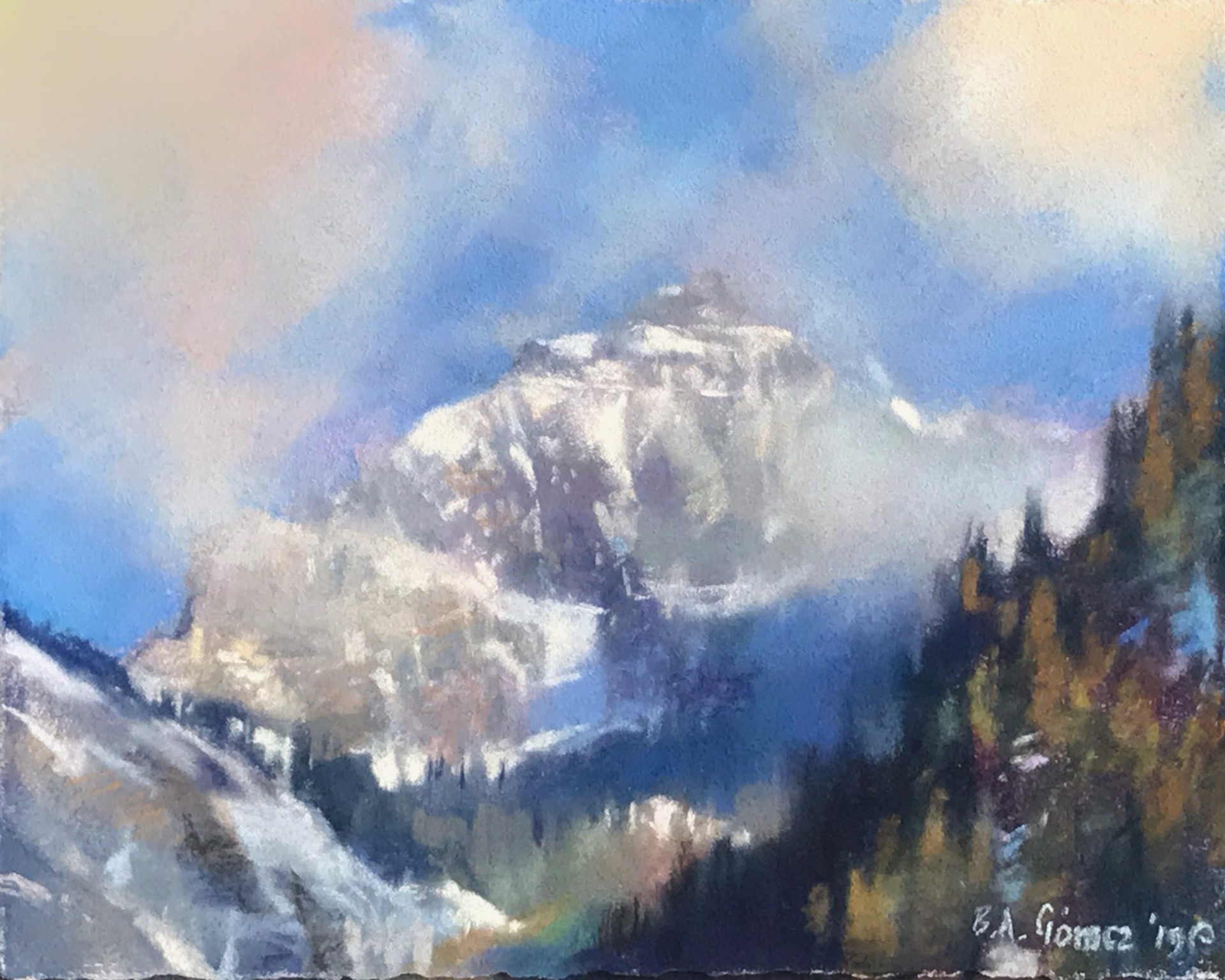 San Sofia Ridge Storm by Bruce A Gómez