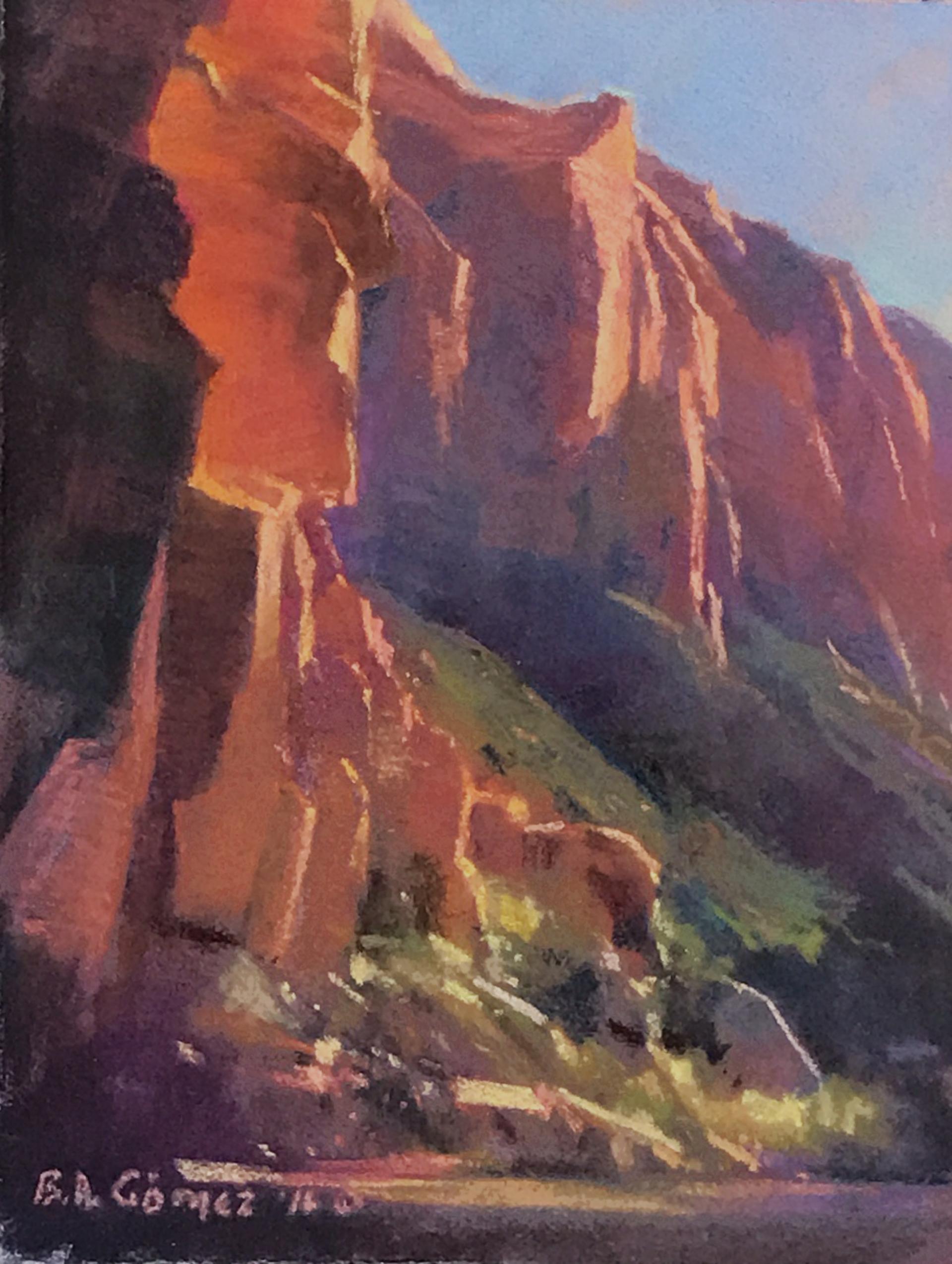 Zion Pine Creek by Bruce A Gómez