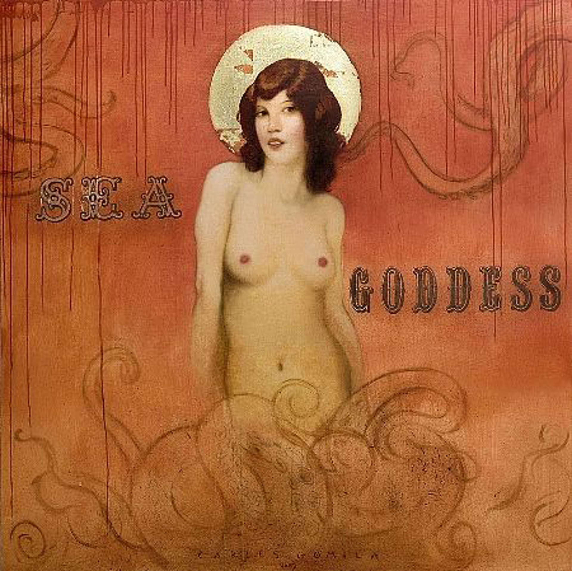 Sea Goddess by Carlos Gomila