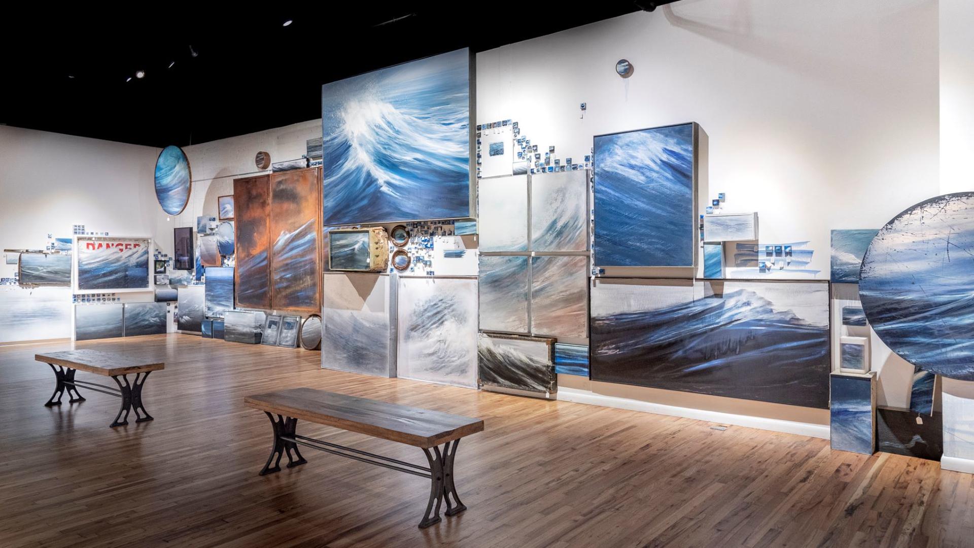 Colorado Coastal, Installation by Jonathan Saiz