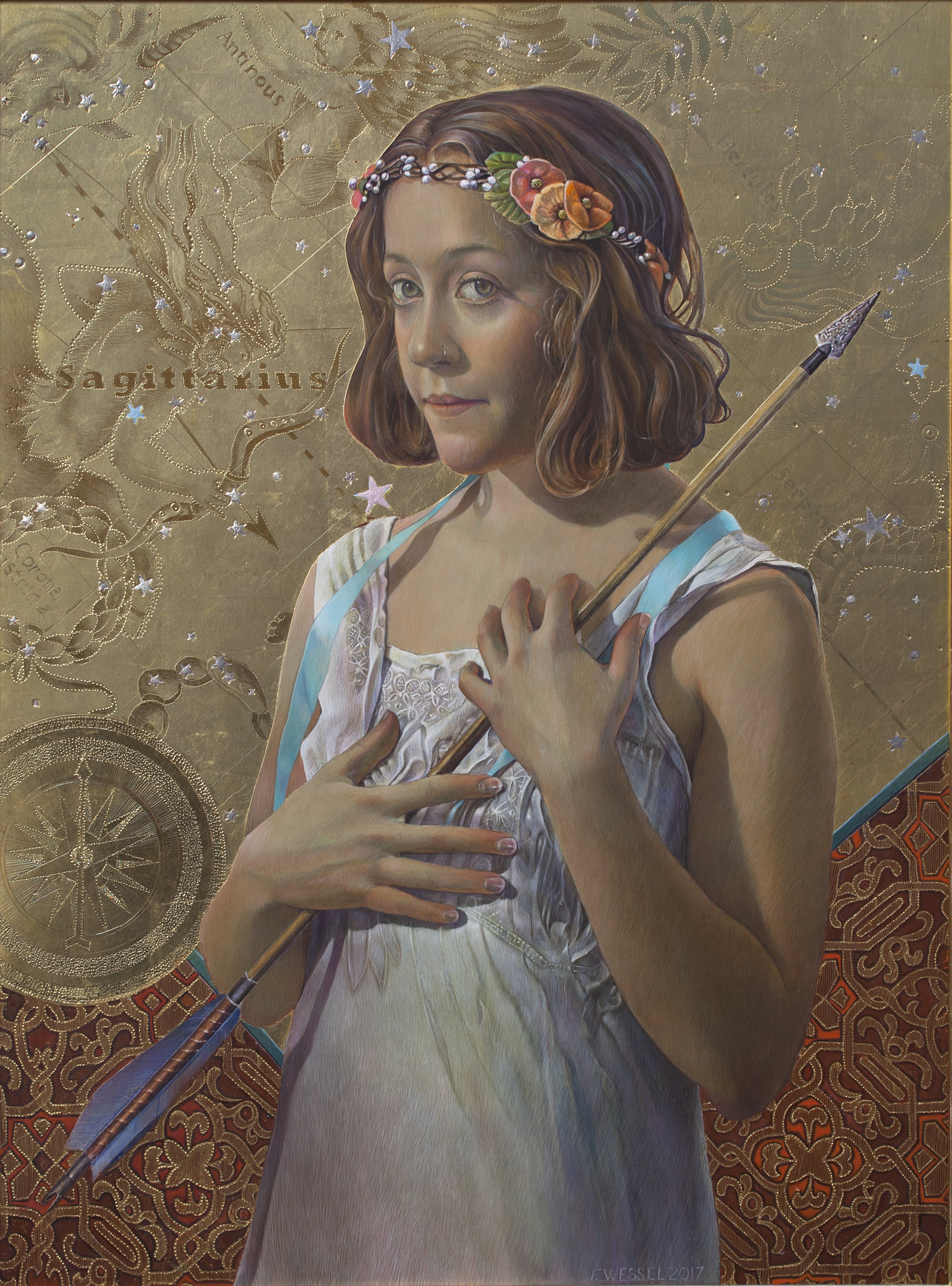 The Constellation Sagittarius by Fred Wessel