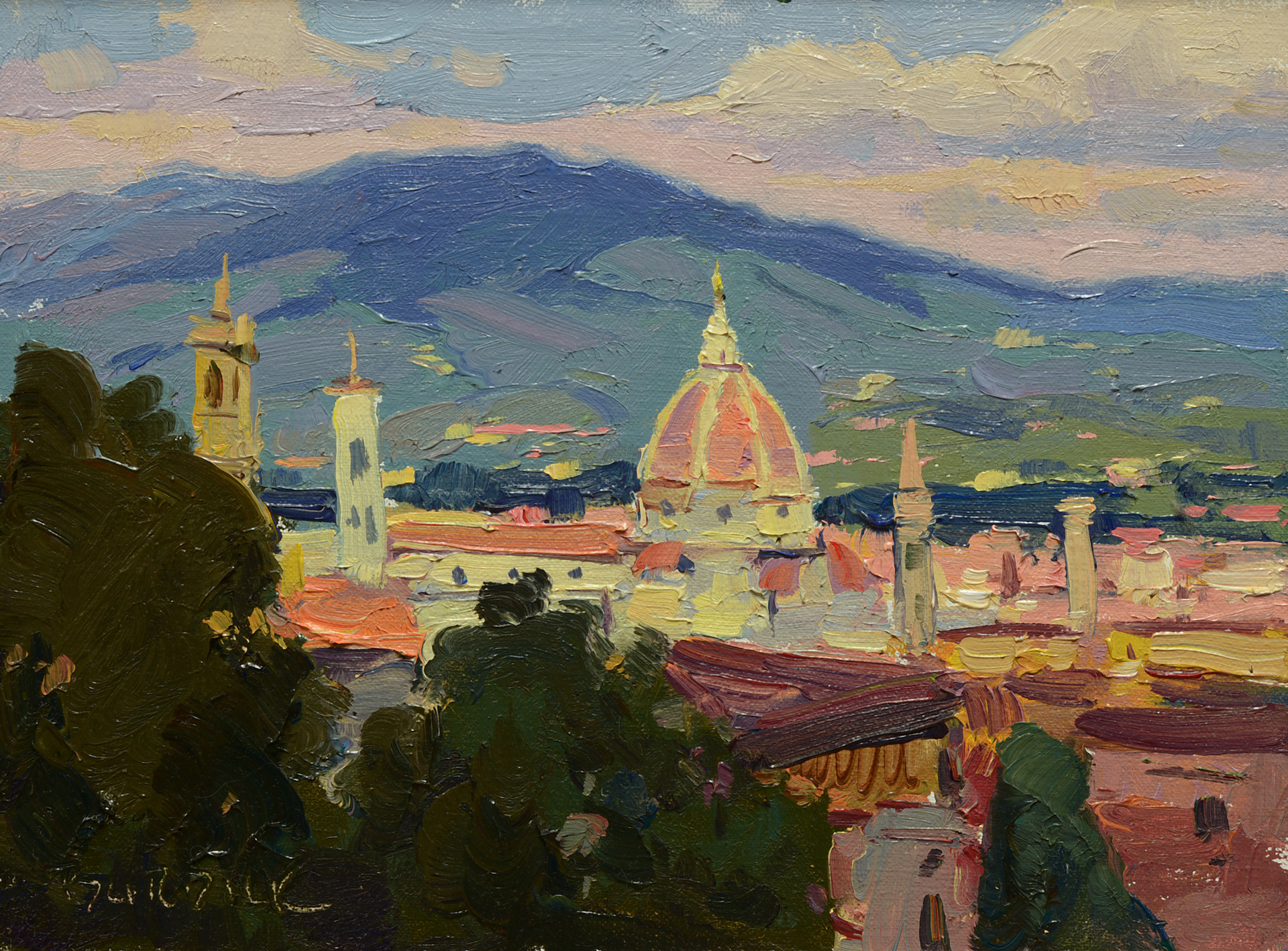 Florence Overlook by Scott Burdick