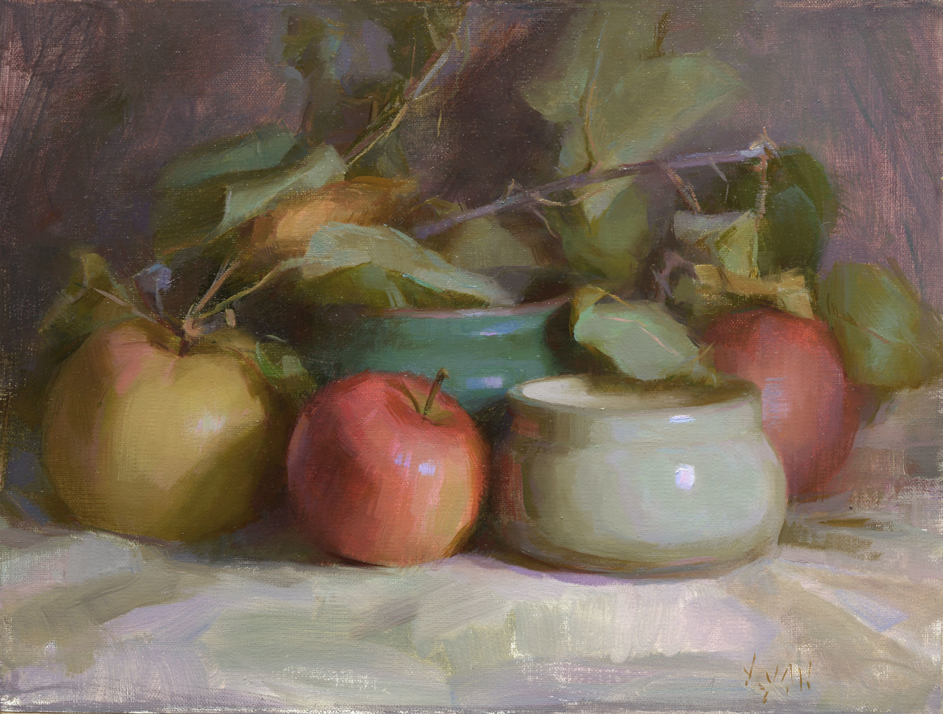 Stephanie's Apple by Susan Lyon