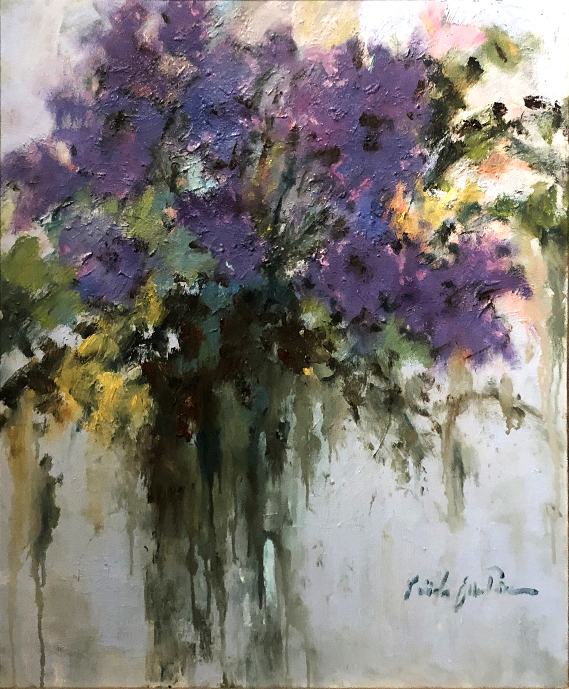 Punch of Purple by Linda Ellen Price