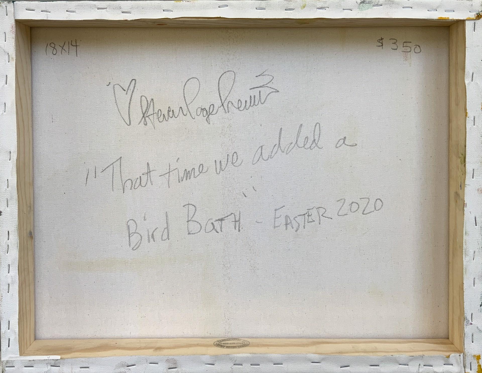 That Time We Added a Bird Bath by Steven Page Prewitt