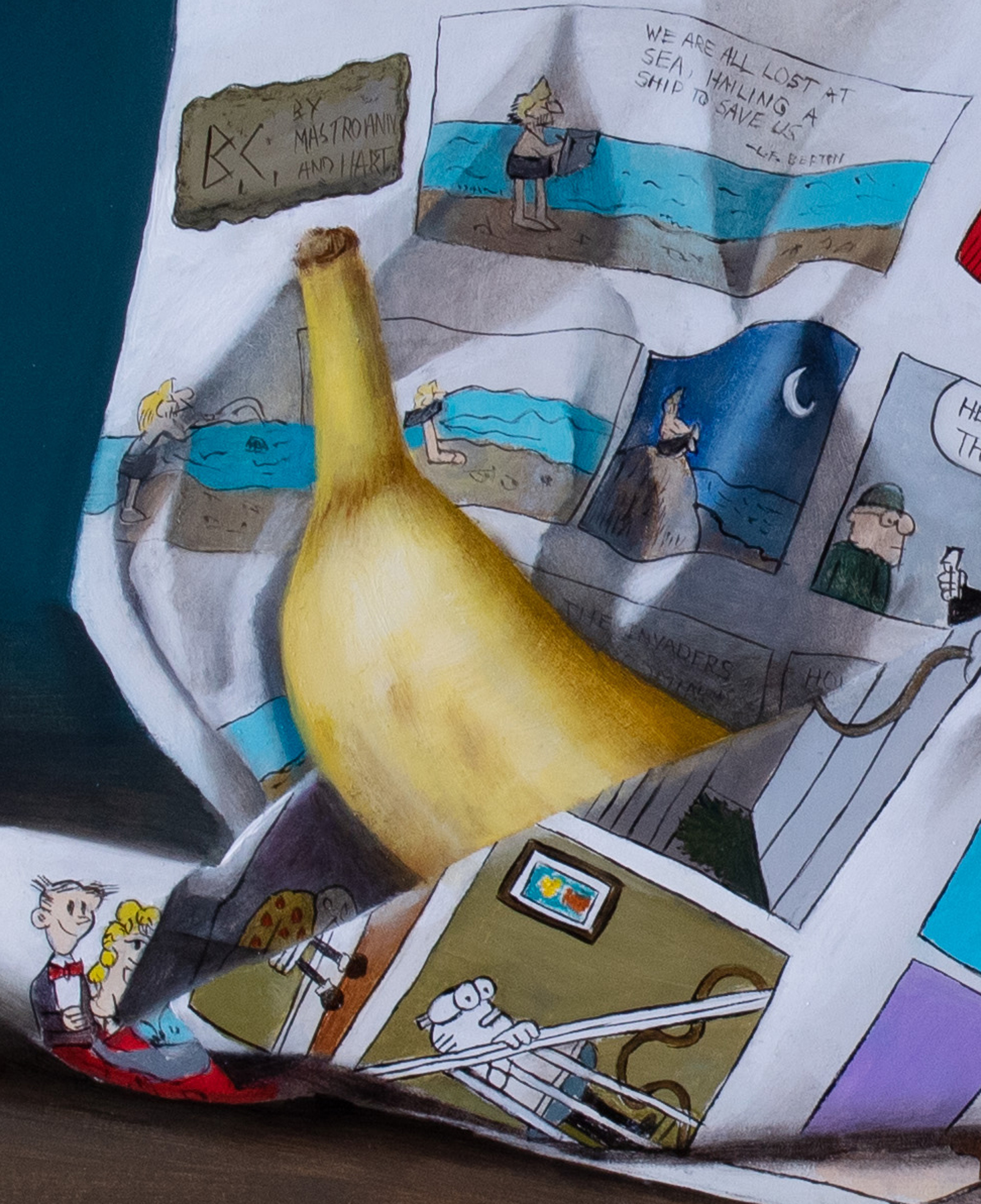 Burrowed Banana by Kelly Birkenruth