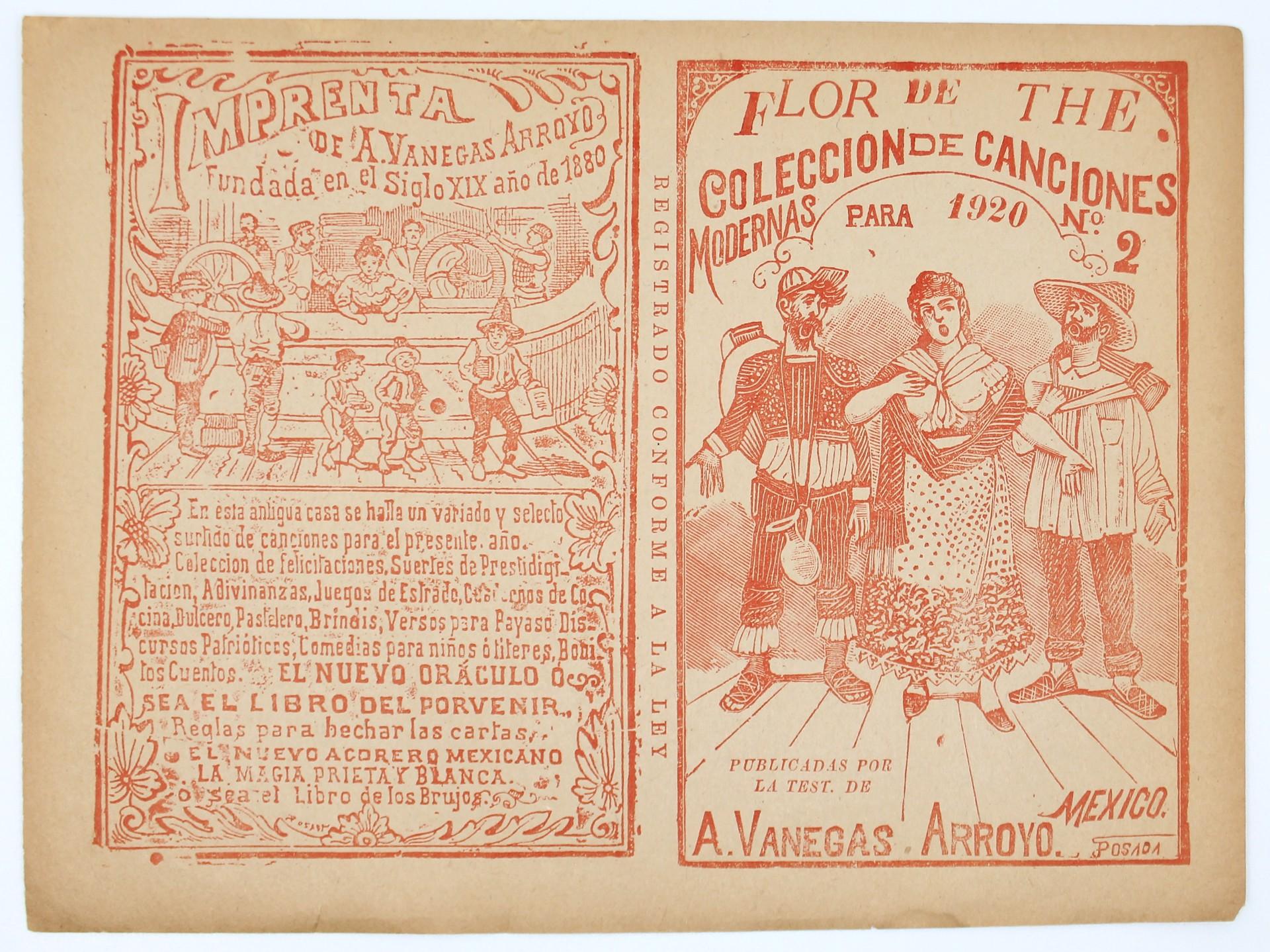 Flor de The. Colección de Canciones Modernas, No. 2 by José Guadalupe Posada (1852 - 1913)
