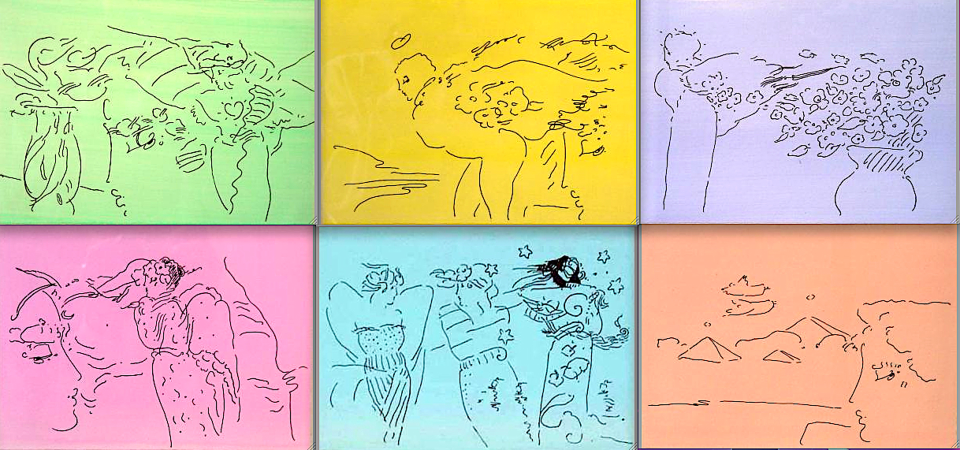 Angels Suite by Peter Max
