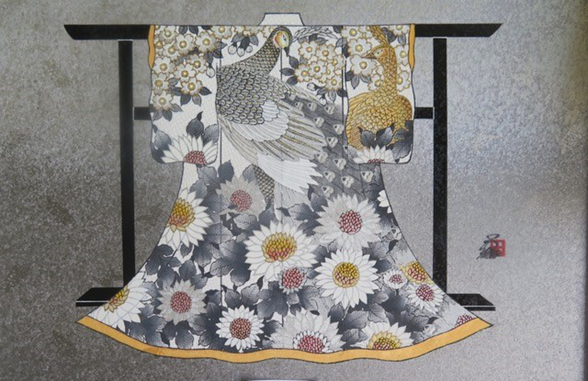 NATURE'S KEEPER #11 (Mini Kimono) by Hisashi Otsuka