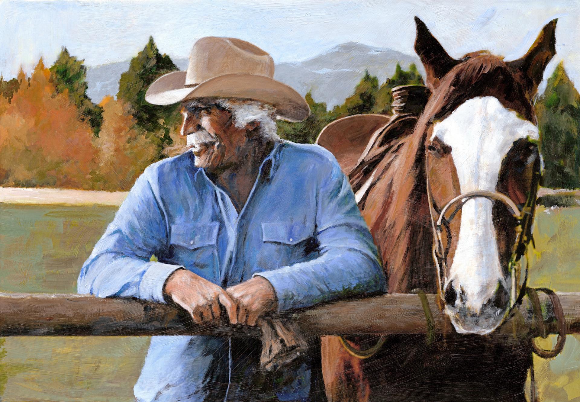 Montana Hawk by Aldo Luongo