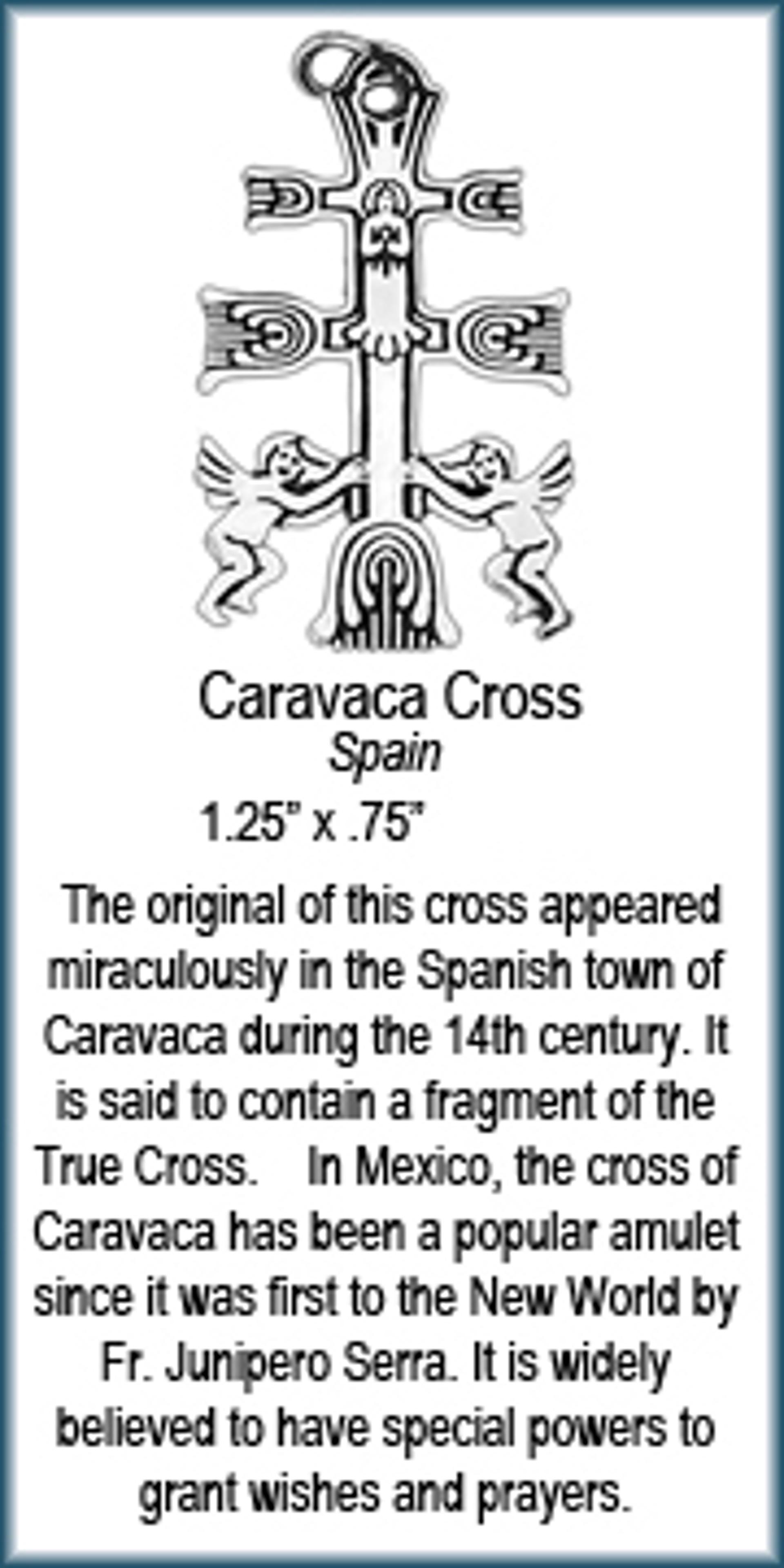 Pendant - Cara Vaca Cross - 6238 by Deanne McKeown