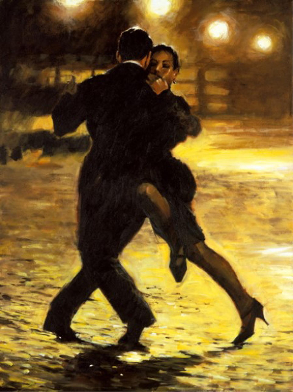 Tango and Cobblestones by Aldo Luongo