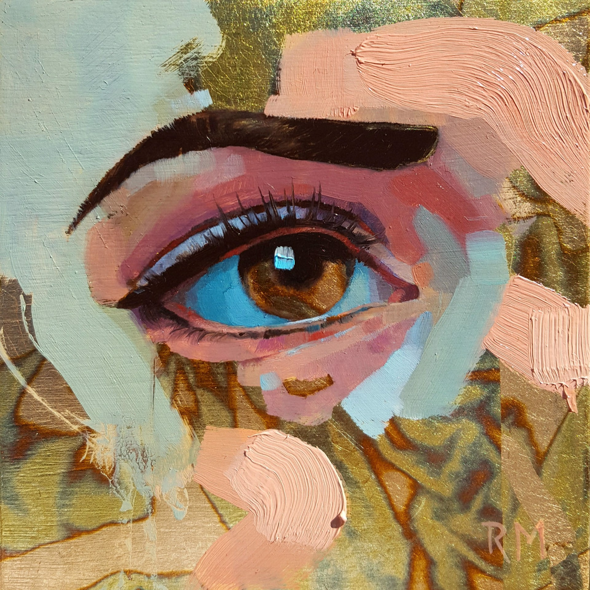 Variegated Eye by Ryan Morse