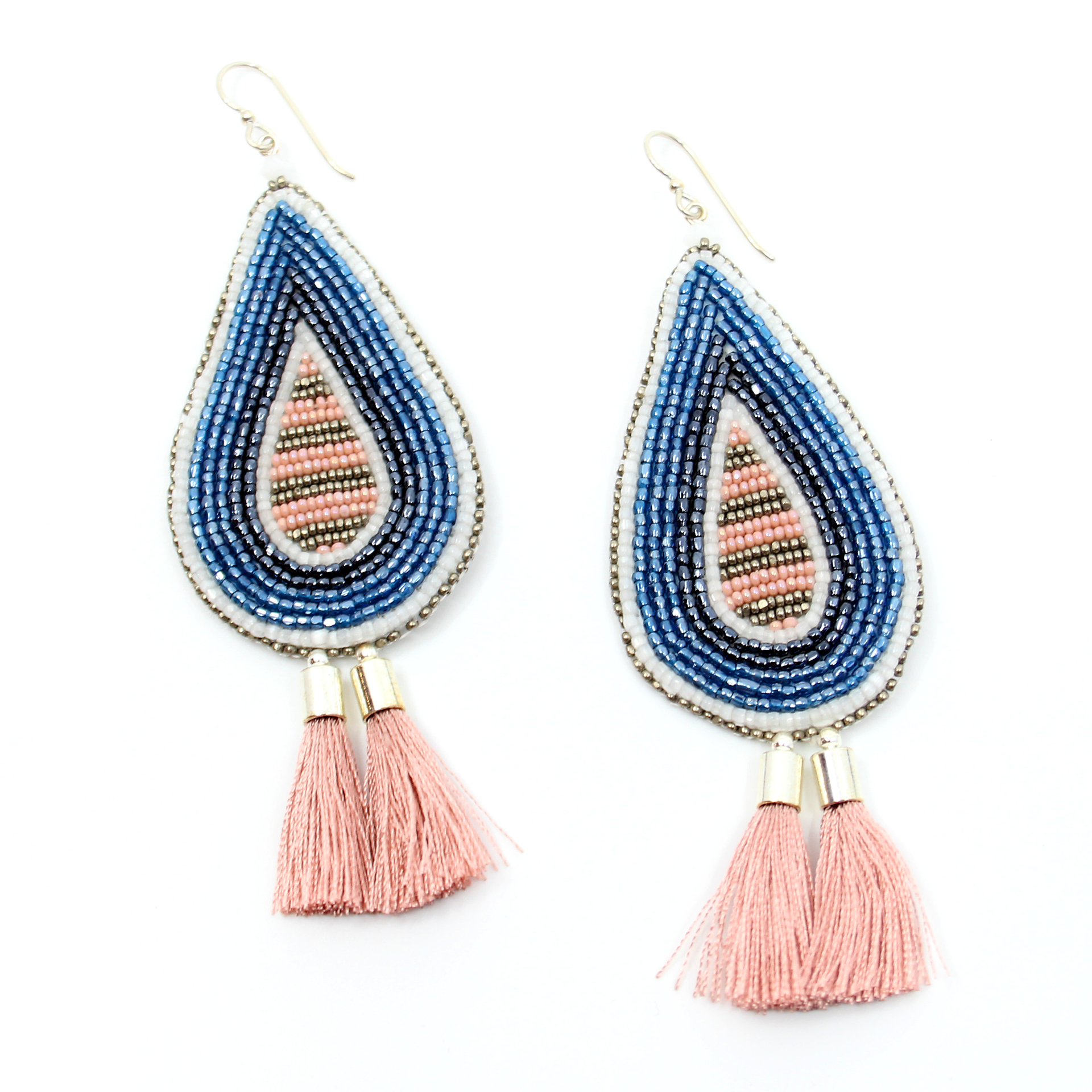 Teardrop Earrings by Hollis Chitto