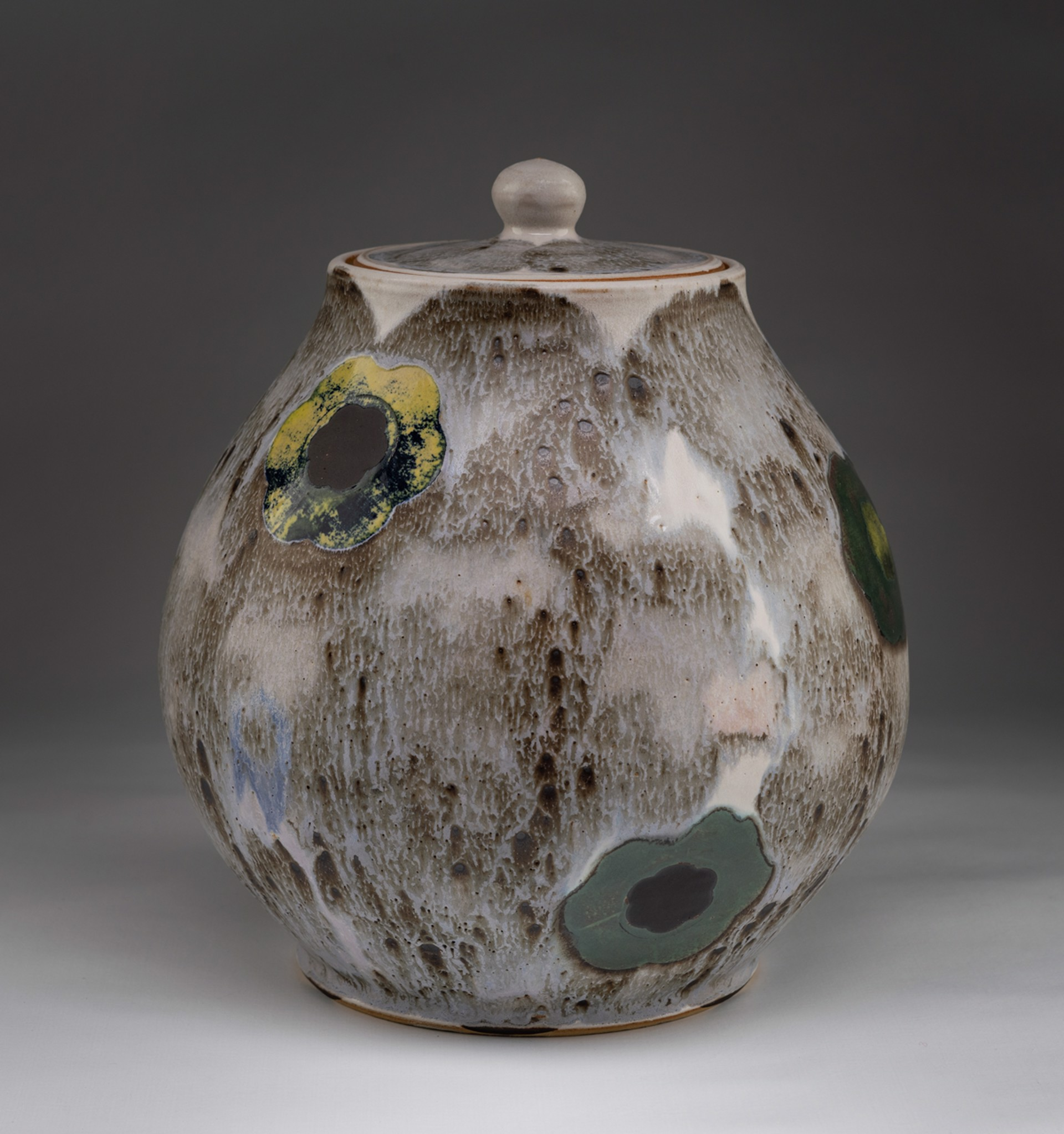 Covered Jar by Sanam Emami