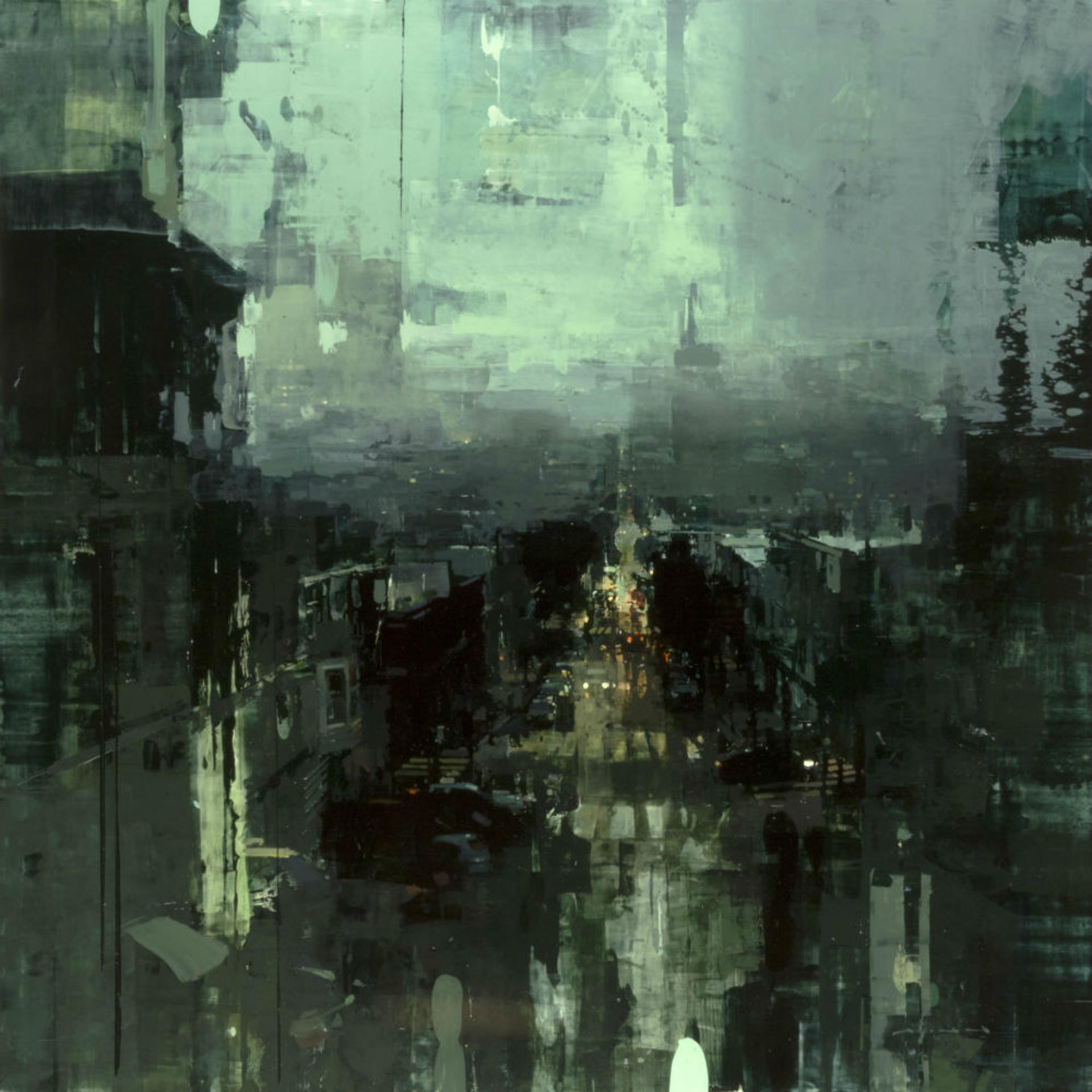 The Oncoming Fog by Jeremy Mann