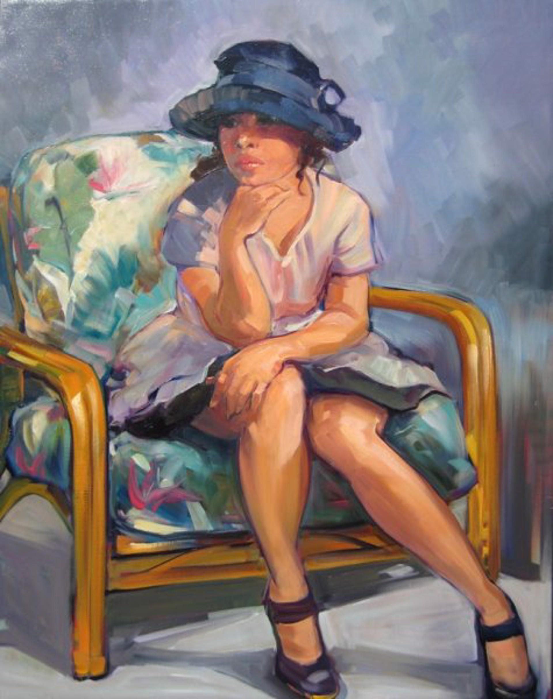 Vintage Hat (Maria Bertran) by Maria Bertrán