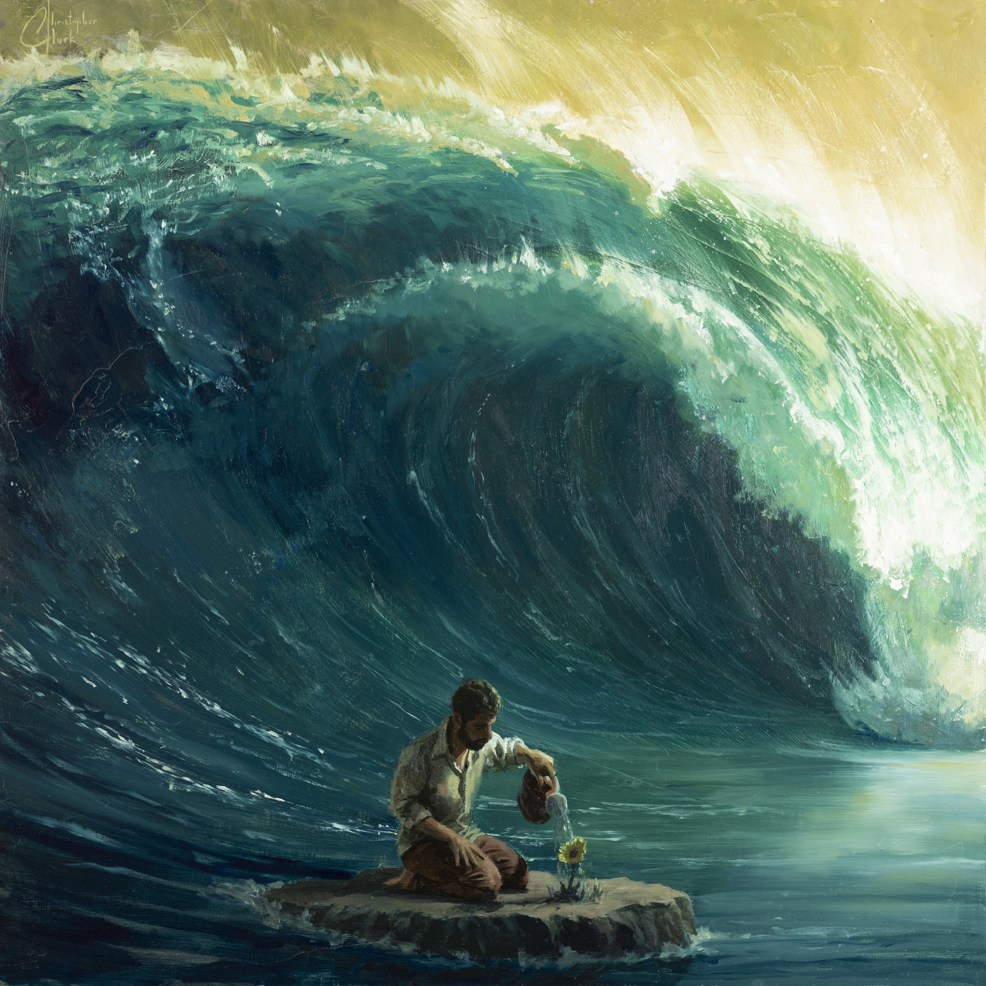 Tidal Wave by Christopher Clark