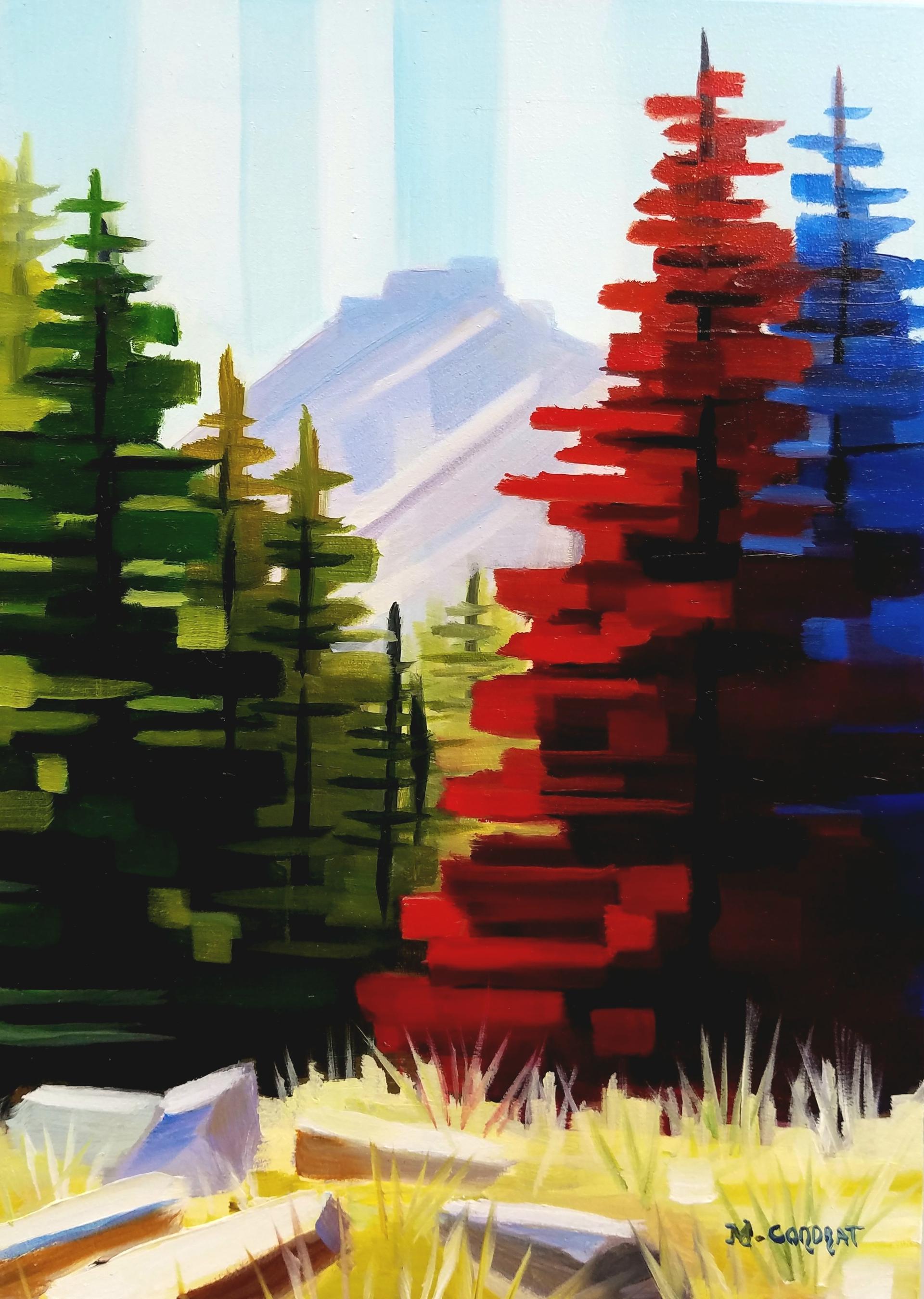 Solitude Pines by Michelle Condrat