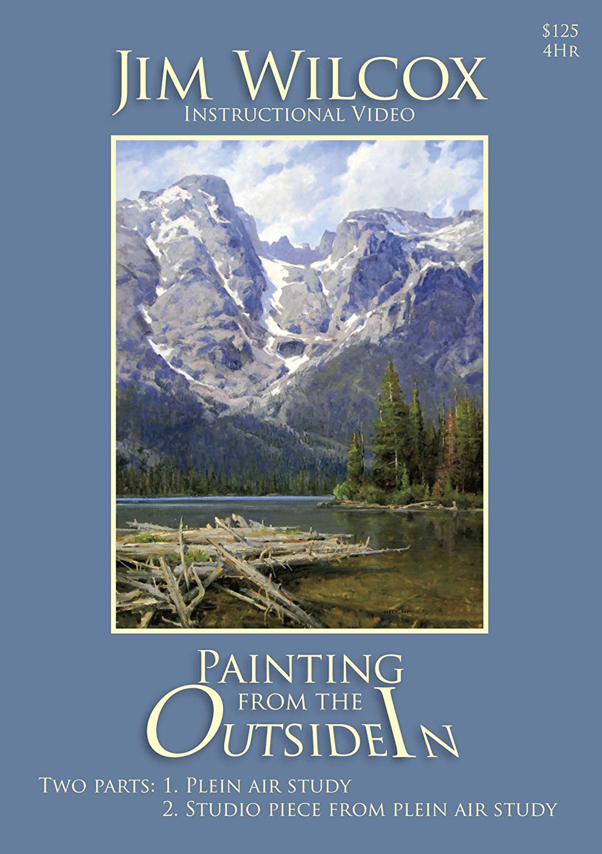 Painting from the Outside In DVD by Jim Wilcox