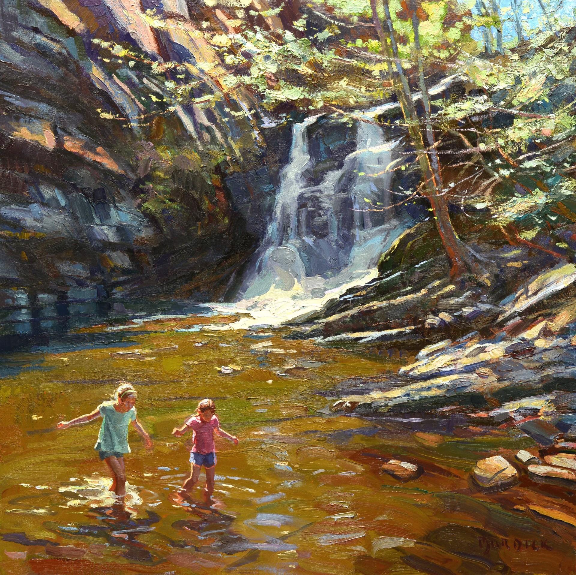 Lower Cascade Falls by Scott Burdick
