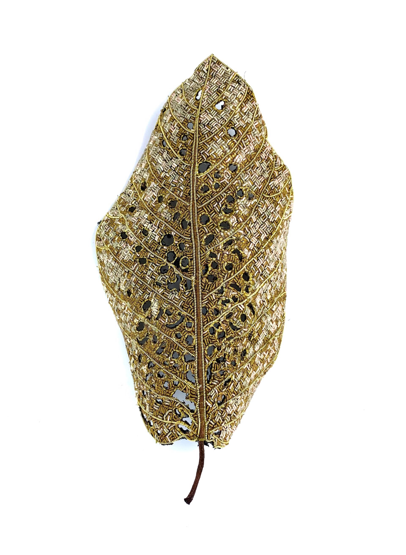 The Impermanence of Life: Jackfruit Leaf I by Tiao Nithakhong Somsanith