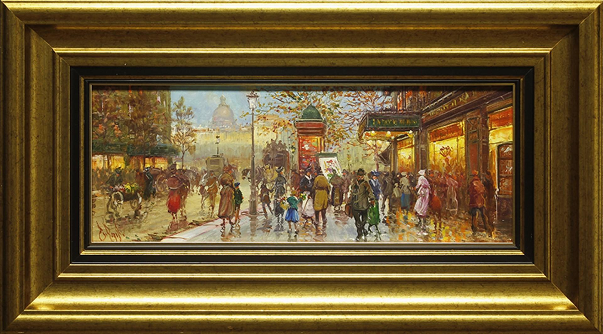 Marche' du Dimanche (Sunday Market) by Emilio Payes