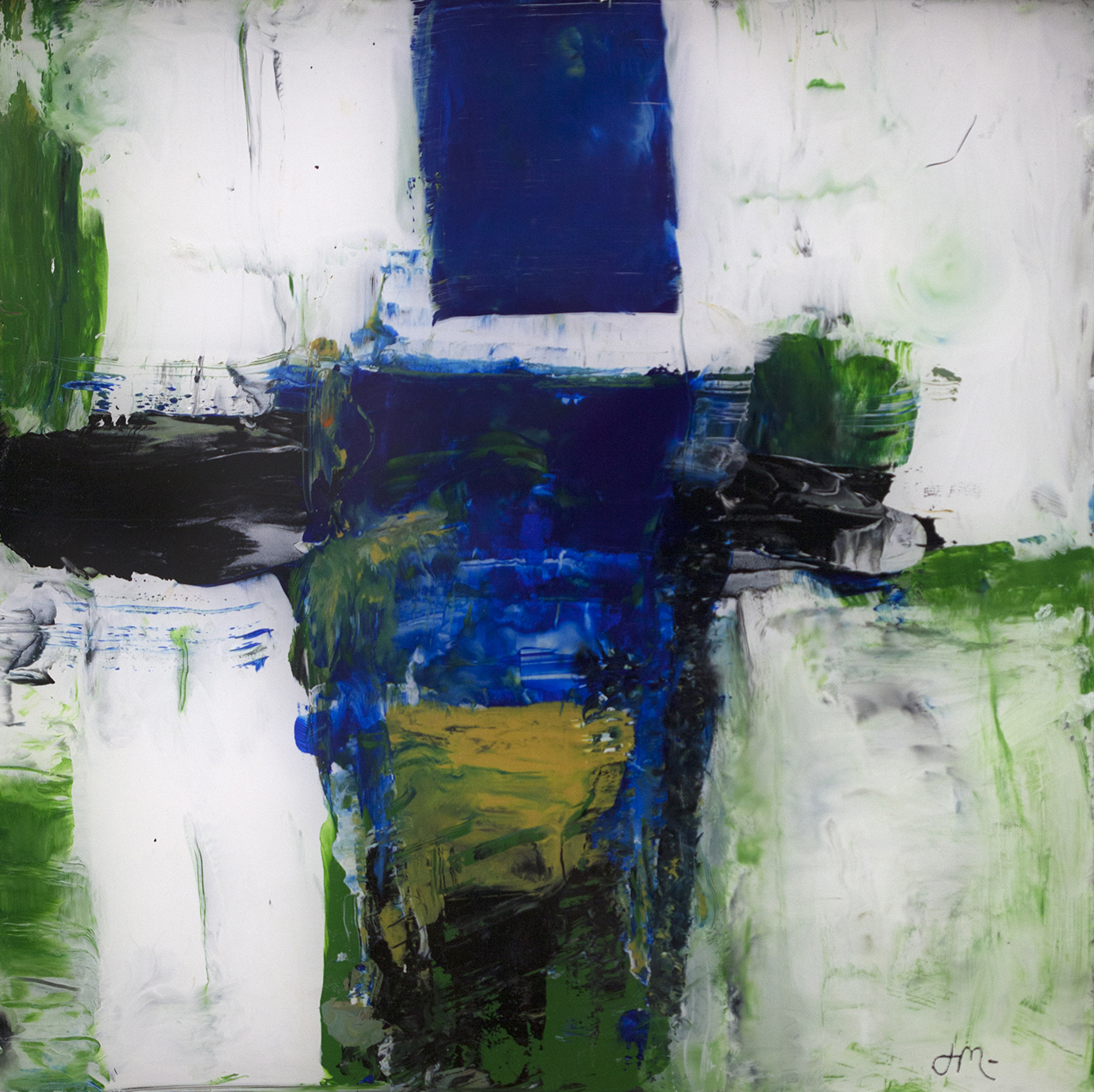 Green and Blue by John McCaw