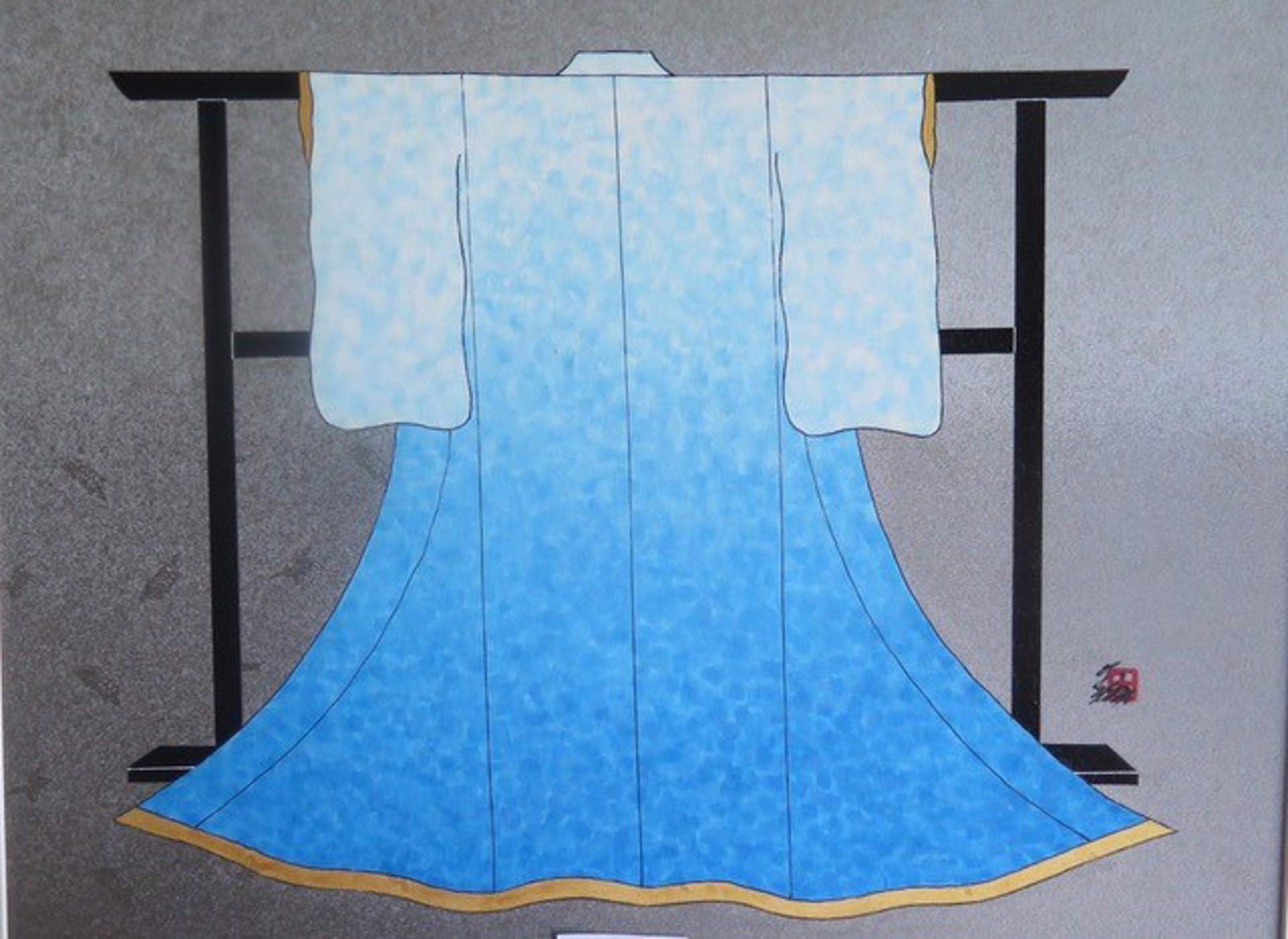 SUMMER (L) (Contemporary Kimono) by Hisashi Otsuka