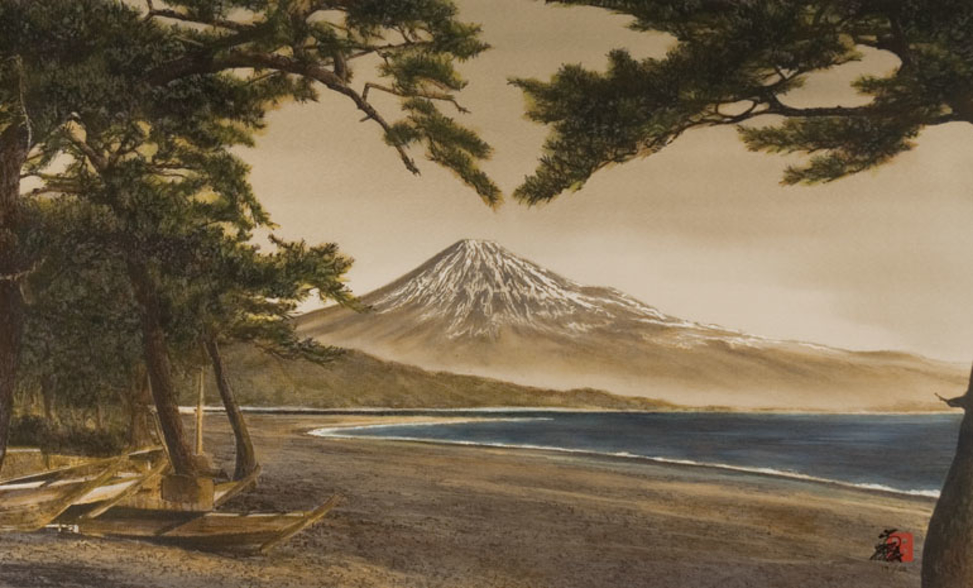Inspiration (Fuji) by Hisashi Otsuka