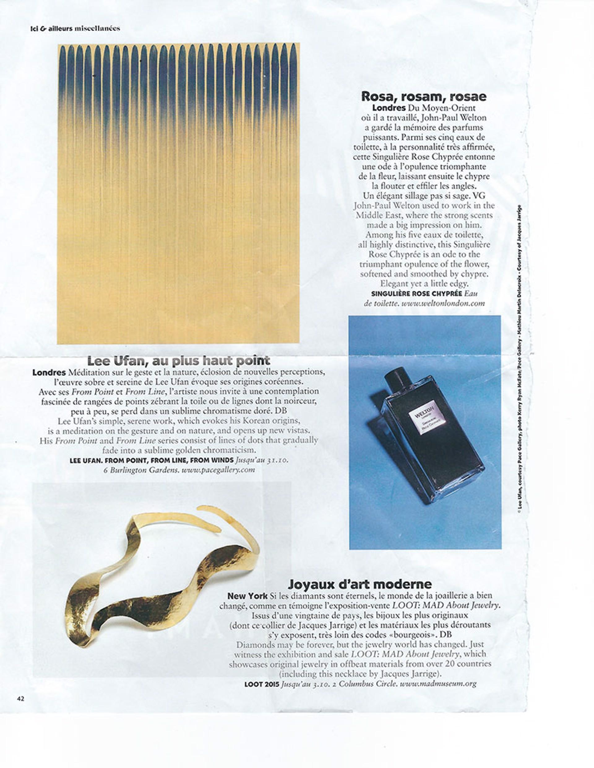 Air France Magazine, November 2015 - Jacques Jarrige
