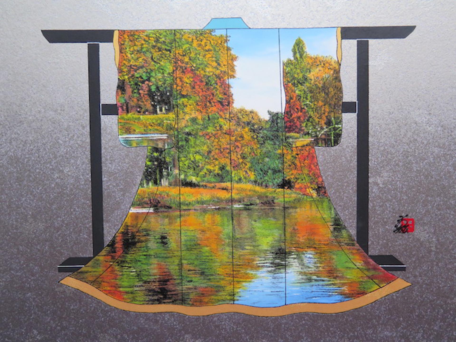 Autumn Reflection #5 by Hisashi Otsuka